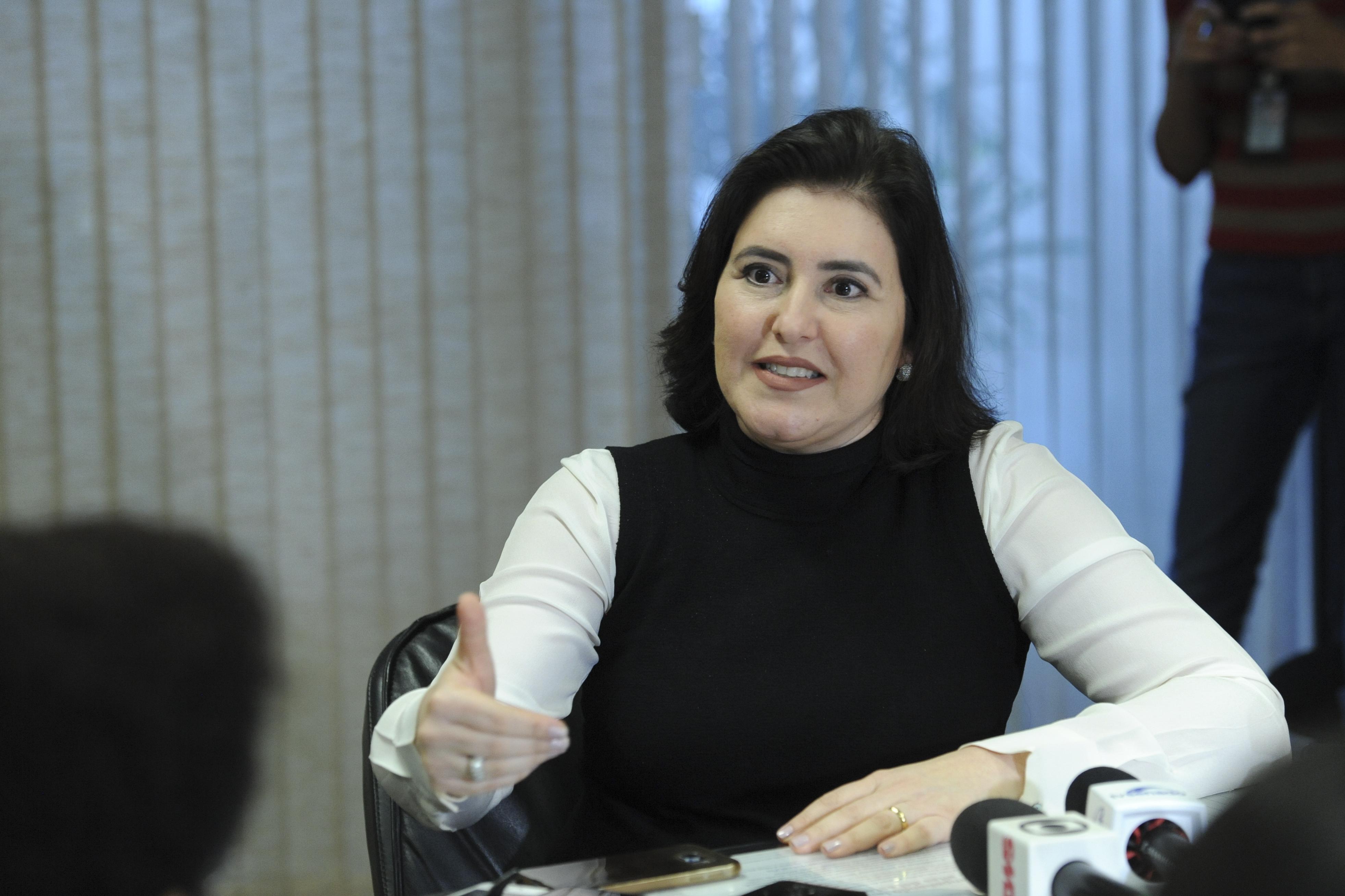 IMAGEM: Tebet propõe quarentena para indicados a agências reguladoras