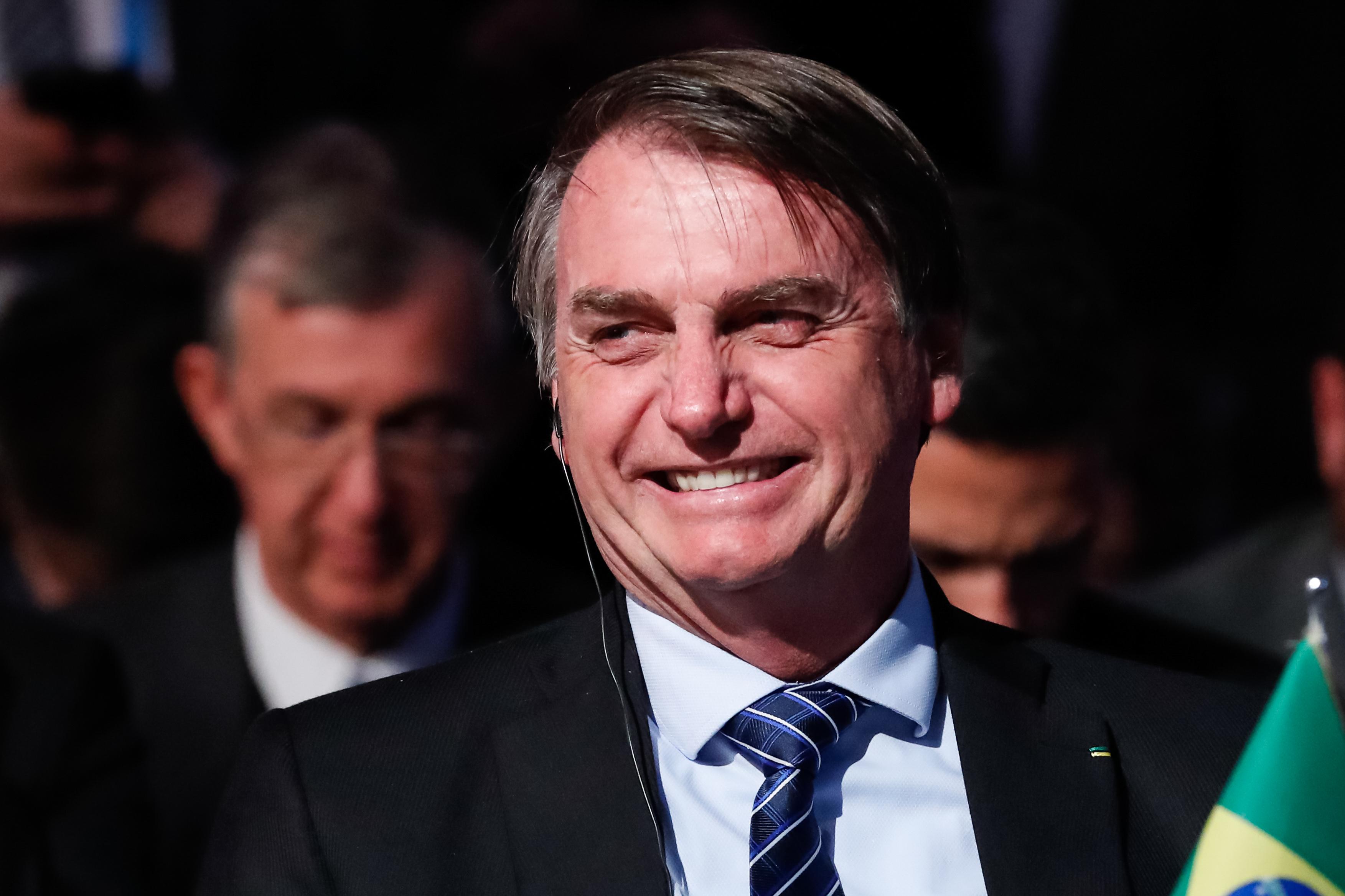 """IMAGEM: Defesa da democracia é """"pilar essencial do Mercosul"""", diz Bolsonaro"""