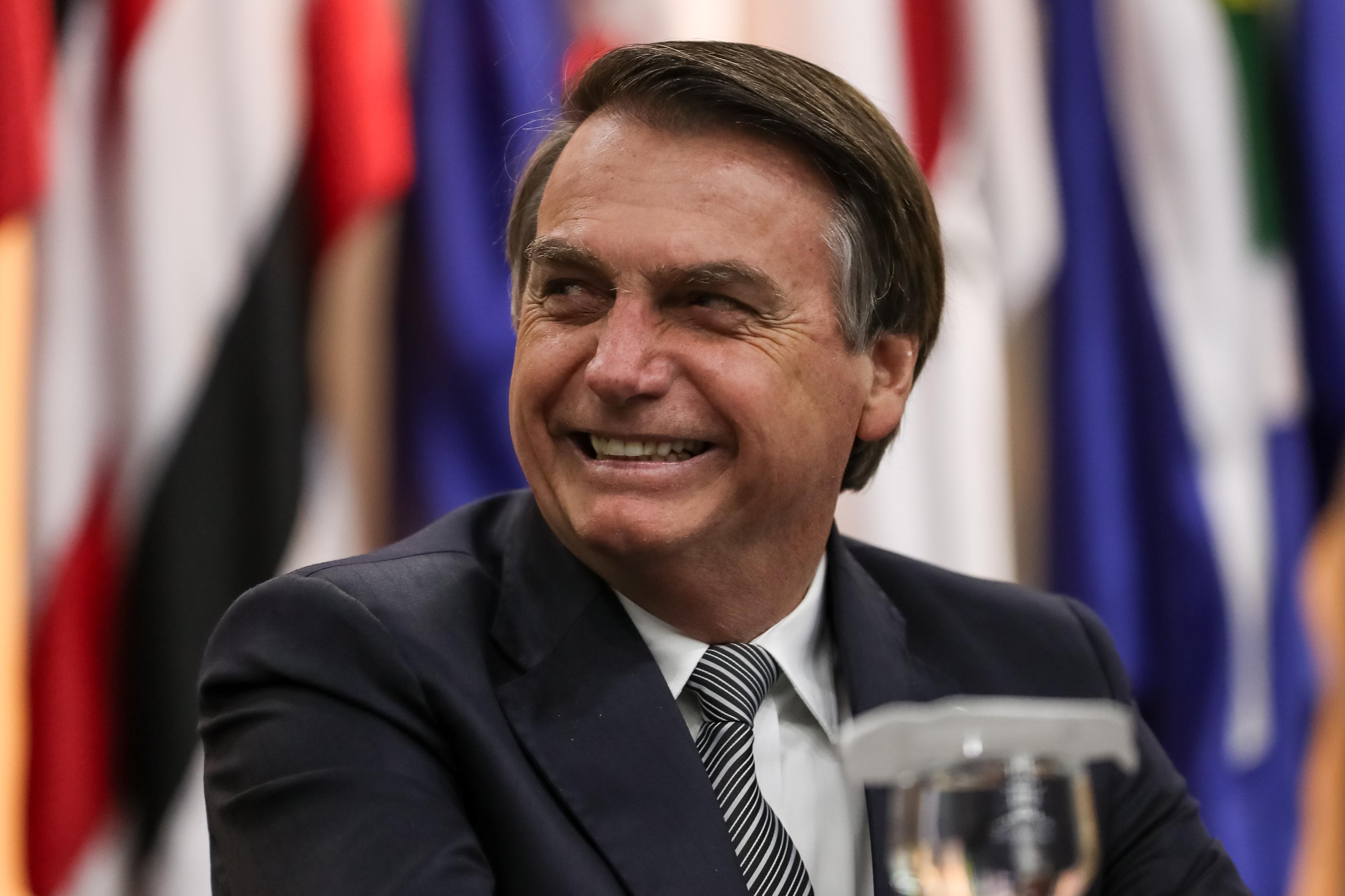 IMAGEM: Bolsonaro ausente em conferência conservadora