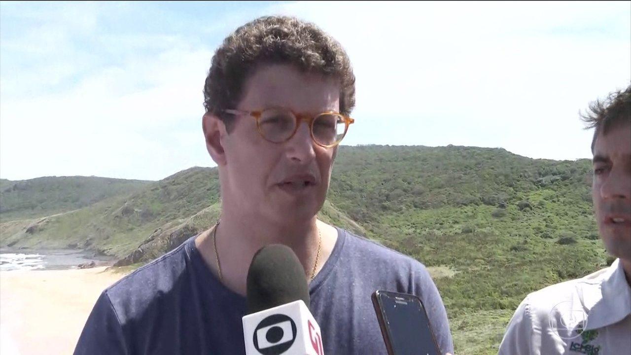 IMAGEM: Chefe da PF no Amazonas diz a Ricardo Salles que 'não vai passar boiada'