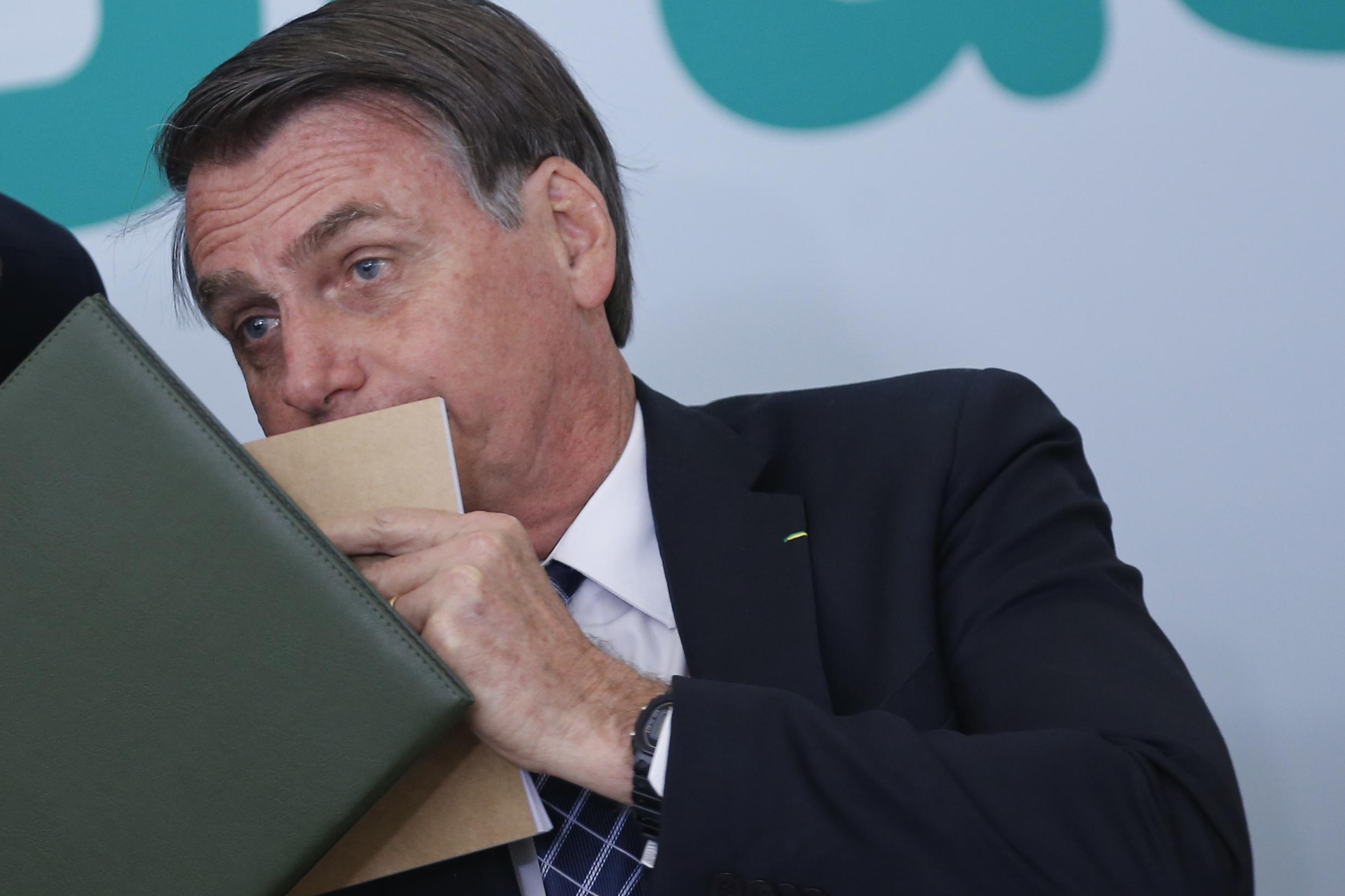 IMAGEM: Bolsonaro: 'Se excesso jornalístico desse cadeia, todos vocês estariam presos'