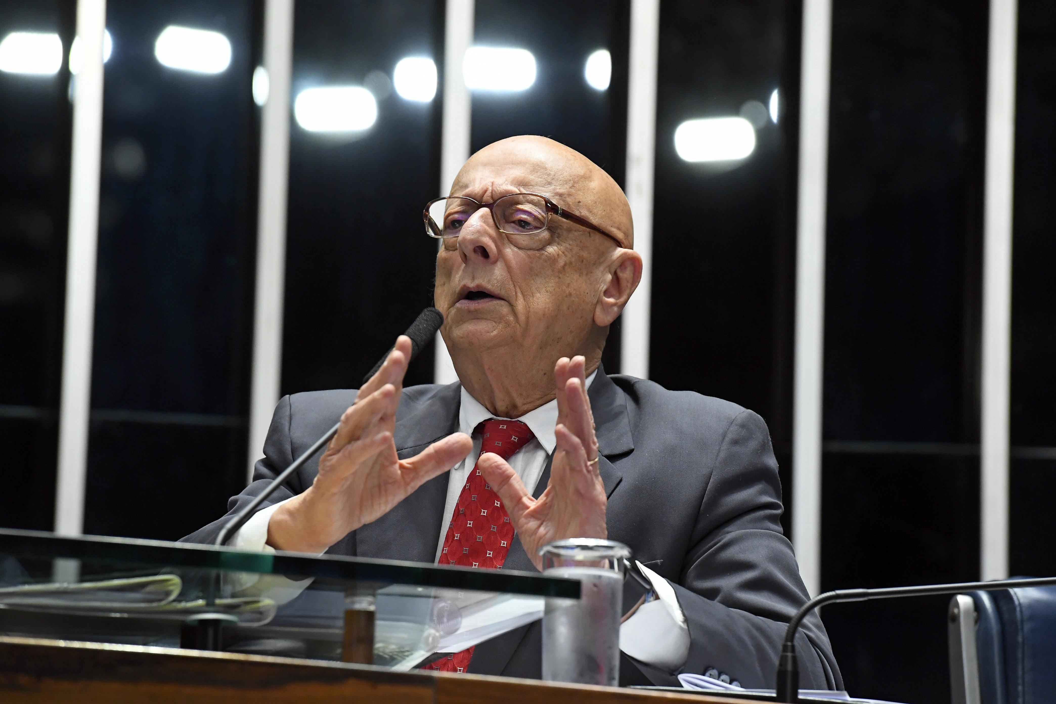 IMAGEM: Para Amin, eventual filiação de Bolsonaro ao PP provocará 'ciúmes' em Brasília