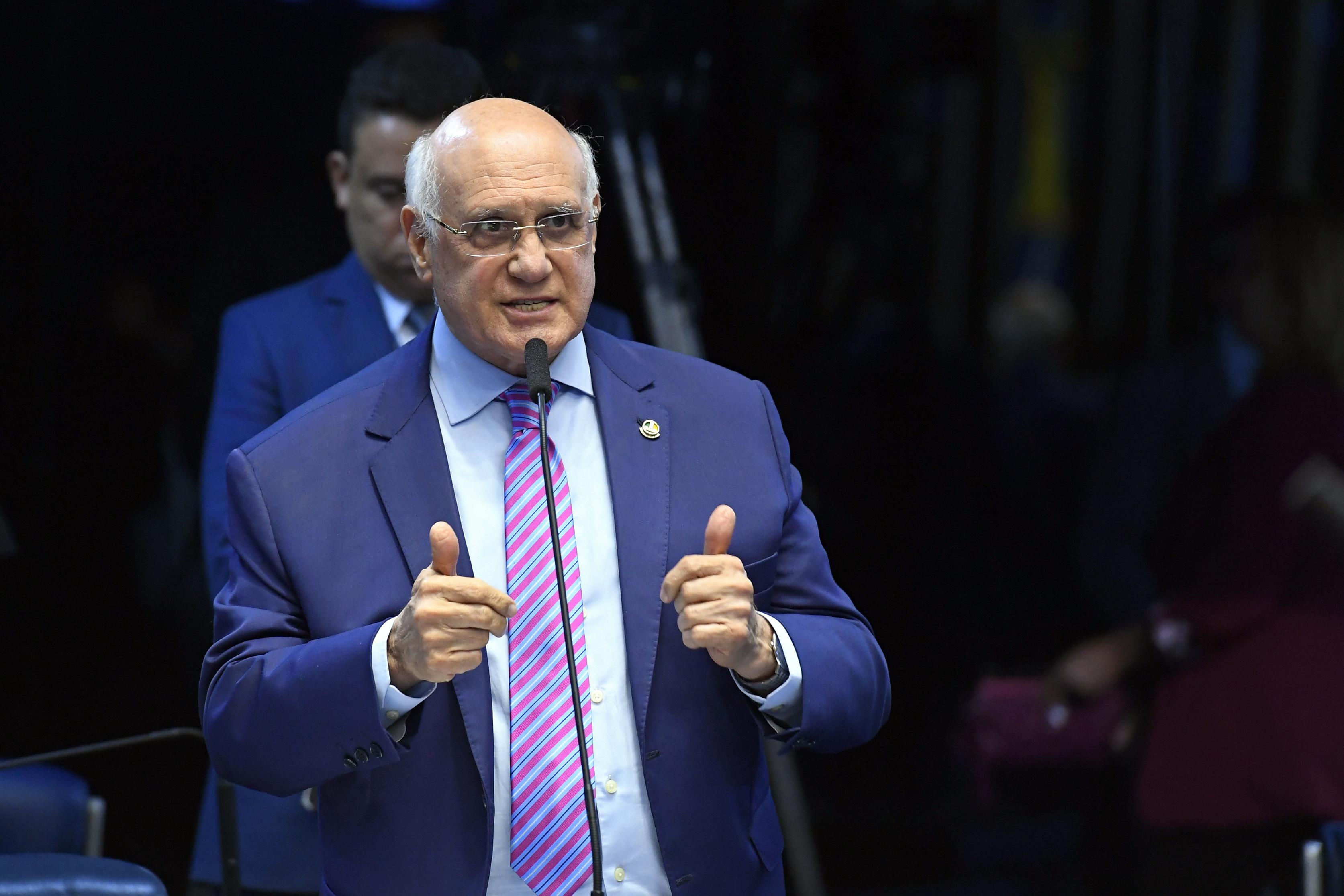 IMAGEM: Lasier quer que Barroso esclareça no Senado pressão para impedir prisão na 2ª instância
