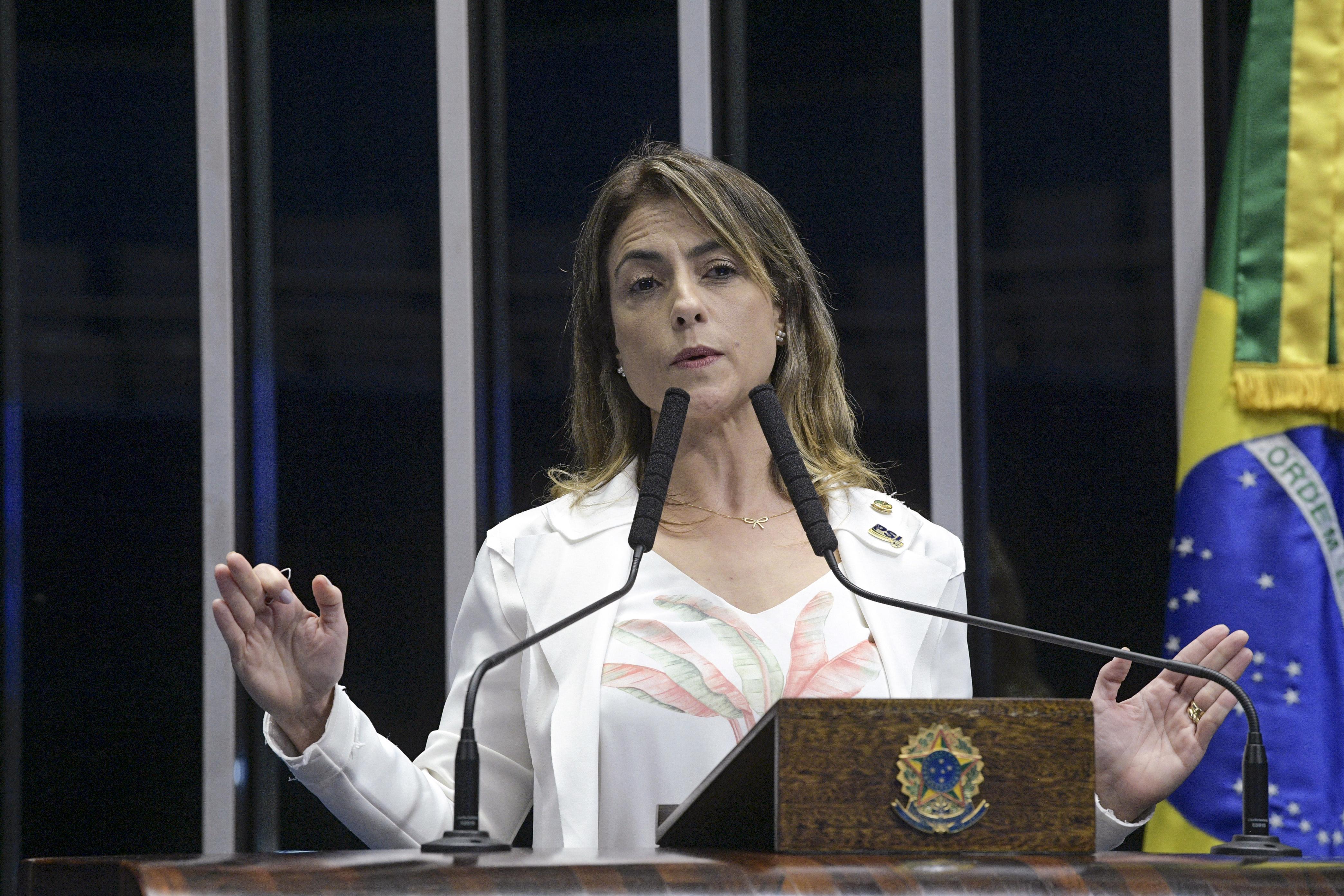 IMAGEM: Senadora Soraya Thronicke também teve celular clonado durante pandemia