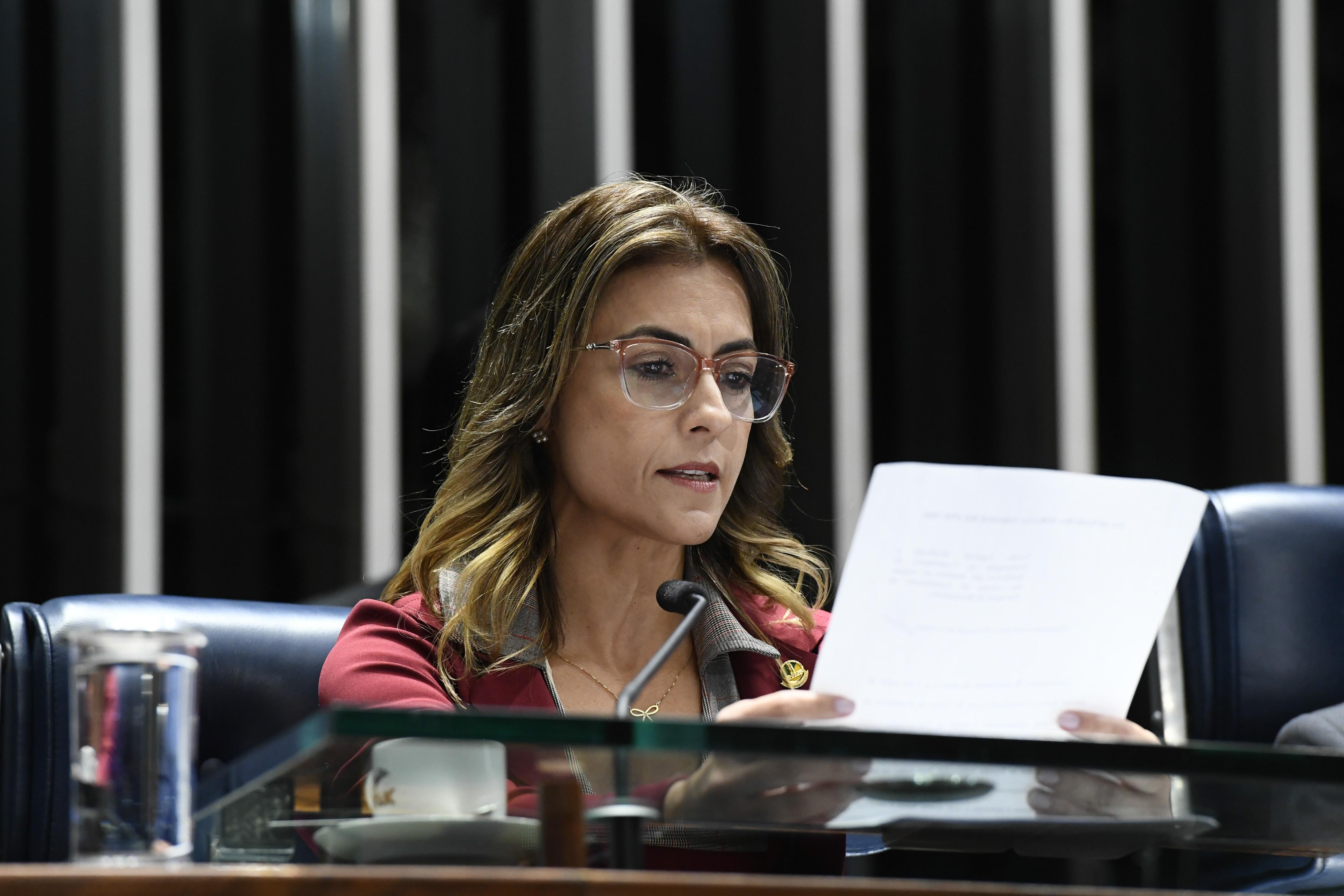 IMAGEM: CPI: senadora governista rebate Heinze e condena uso de kit-Covid
