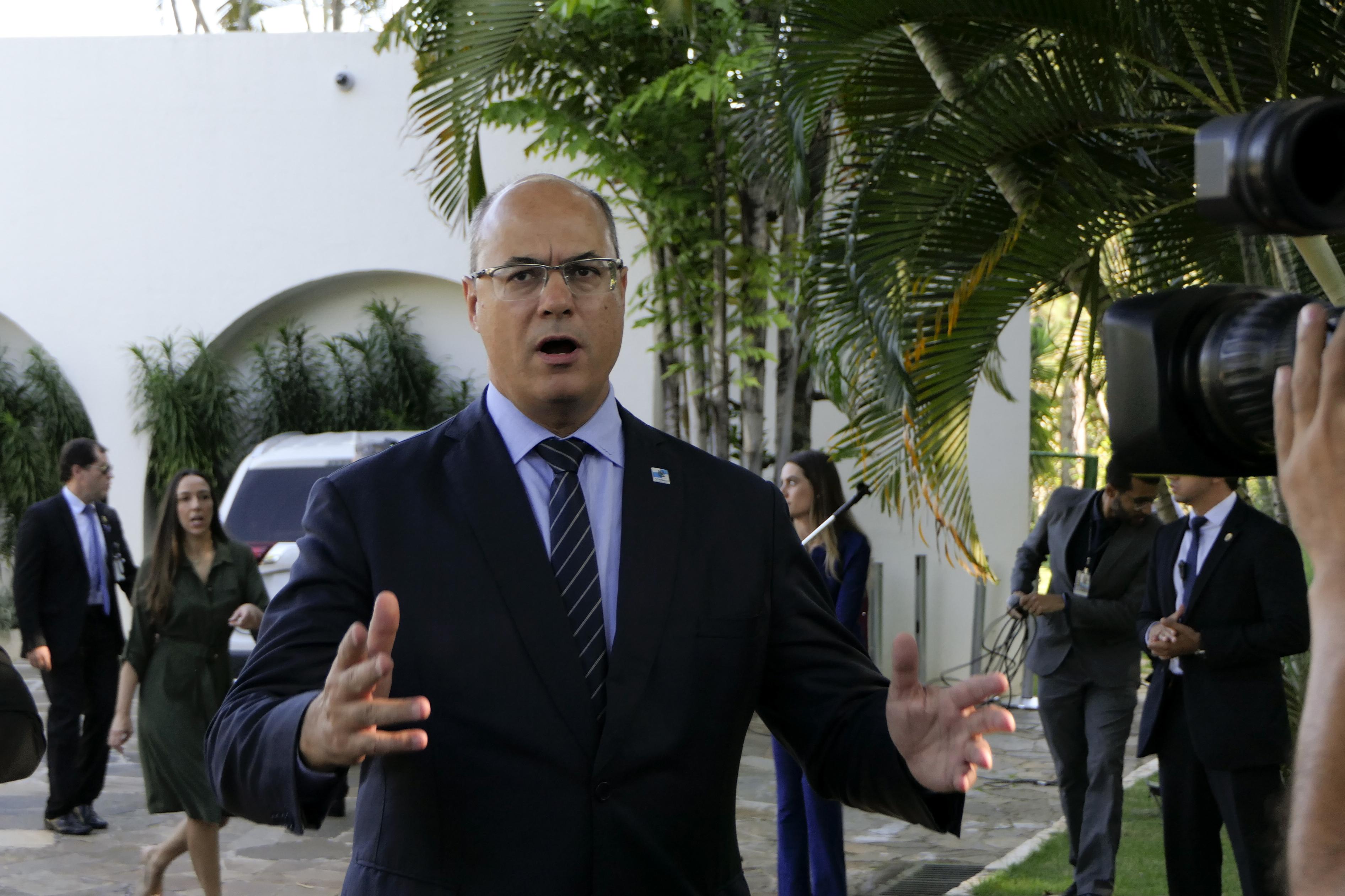 """IMAGEM: Witzel: """"Bolsonaro caminha para o precipício e quer levar com ele todos nós"""""""