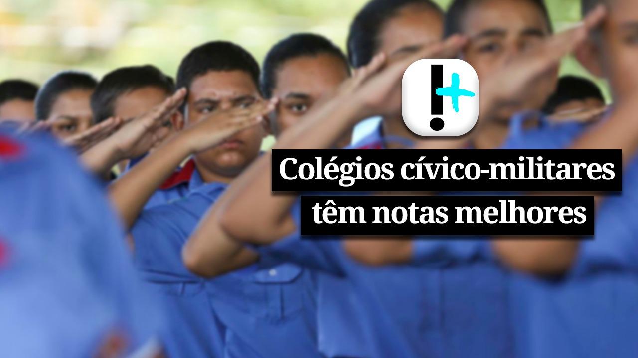 IMAGEM: Vídeo: Colégios cívico-militares têm notas melhores