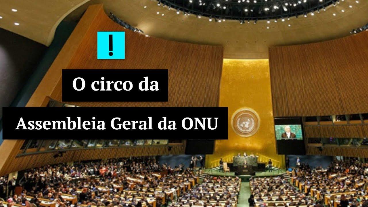 IMAGEM: Vídeo: O circo da Assembleia Geral da ONU