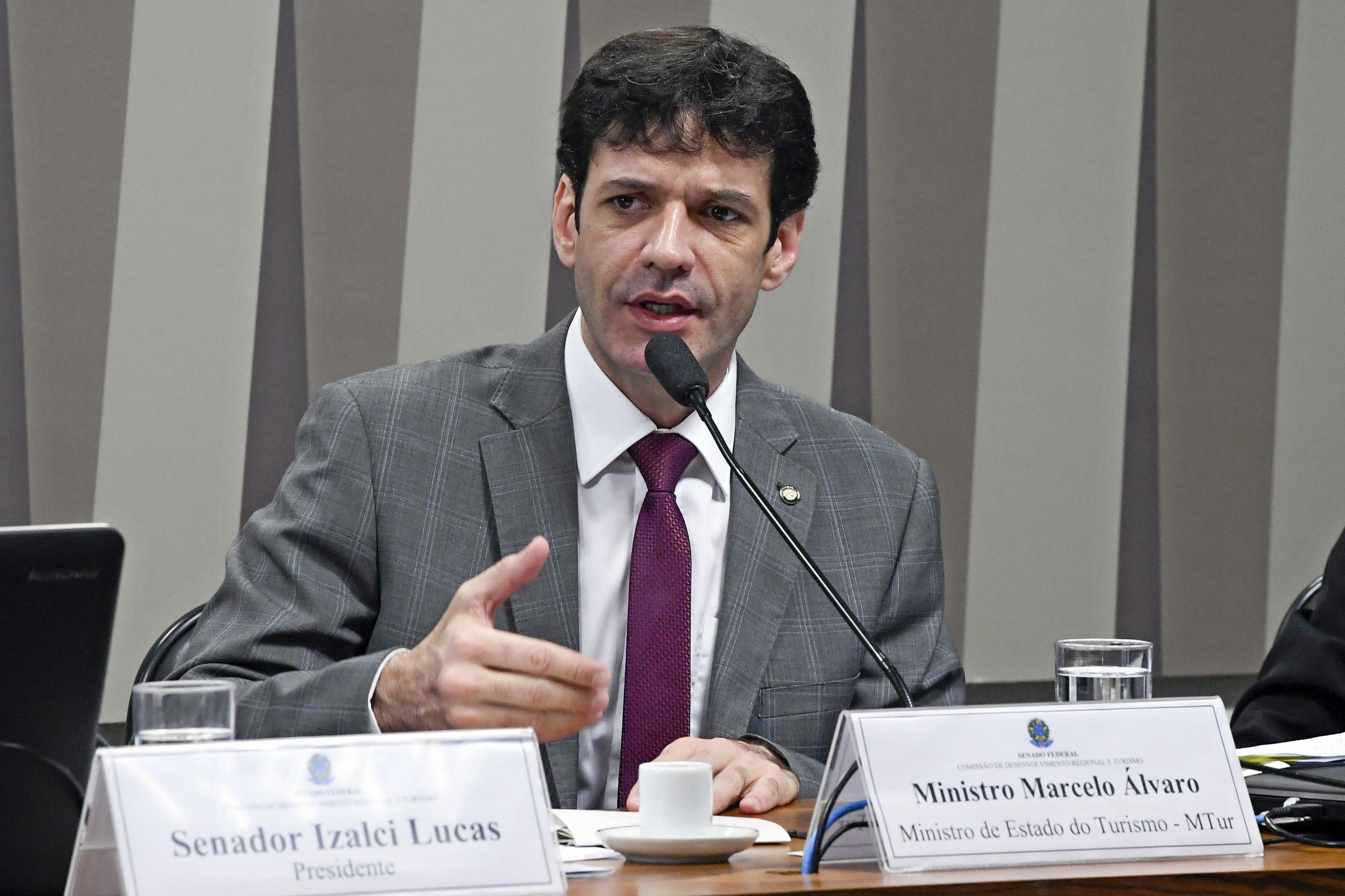 IMAGEM: AO VIVO – Marcelo Álvaro Antônio no Senado