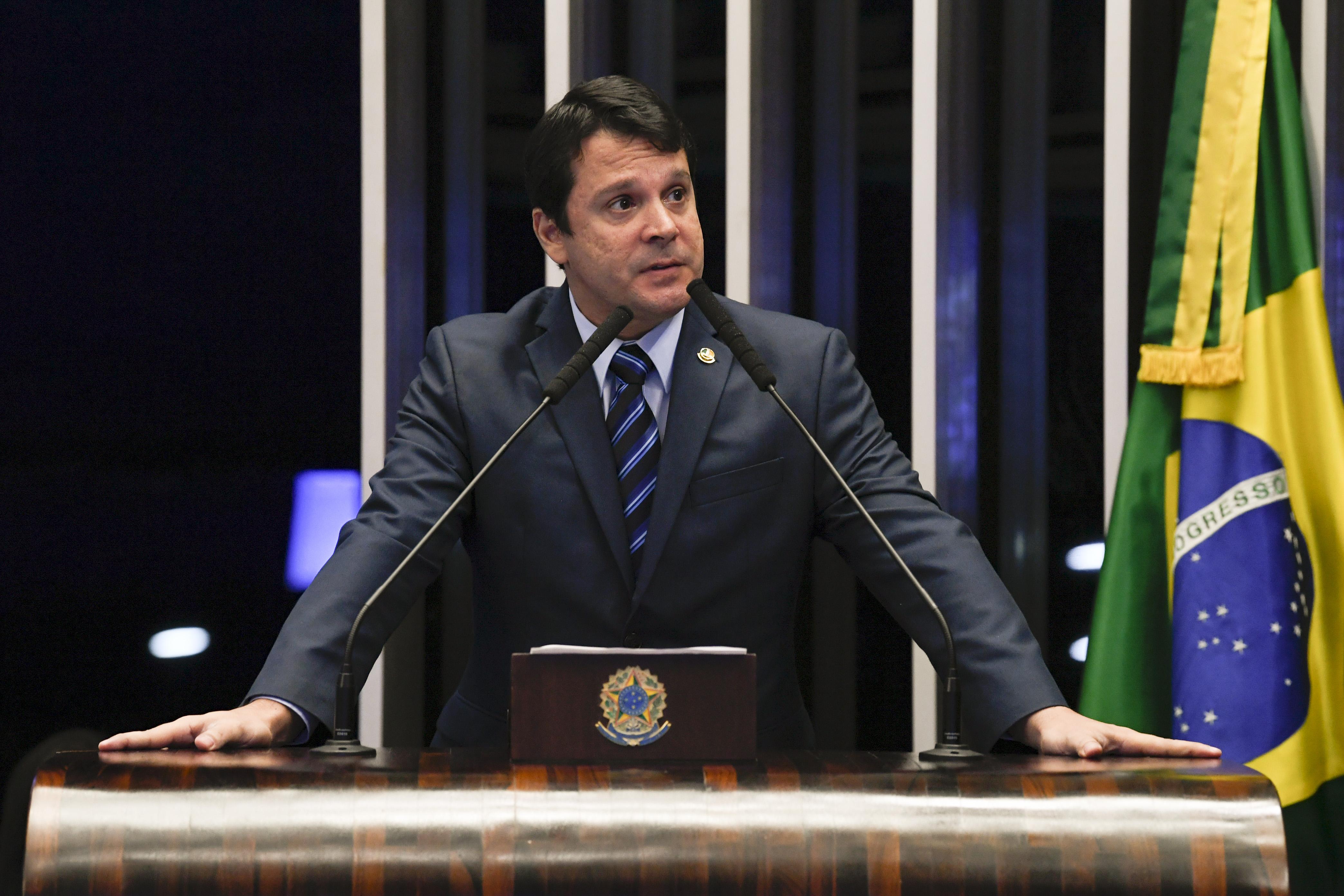 IMAGEM: Reguffe quer que Sergio Moro vá ao Senado 'falar tudo'