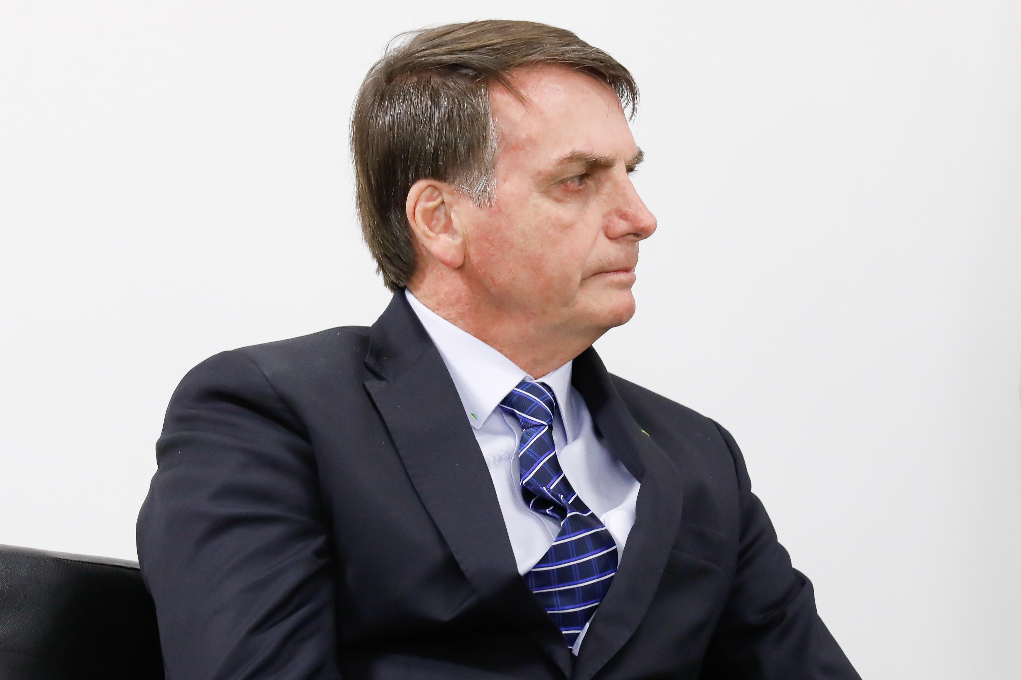 IMAGEM: Bolsonaro se diz disposto a vetar trecho do pacote anticrime sobre mídias sociais