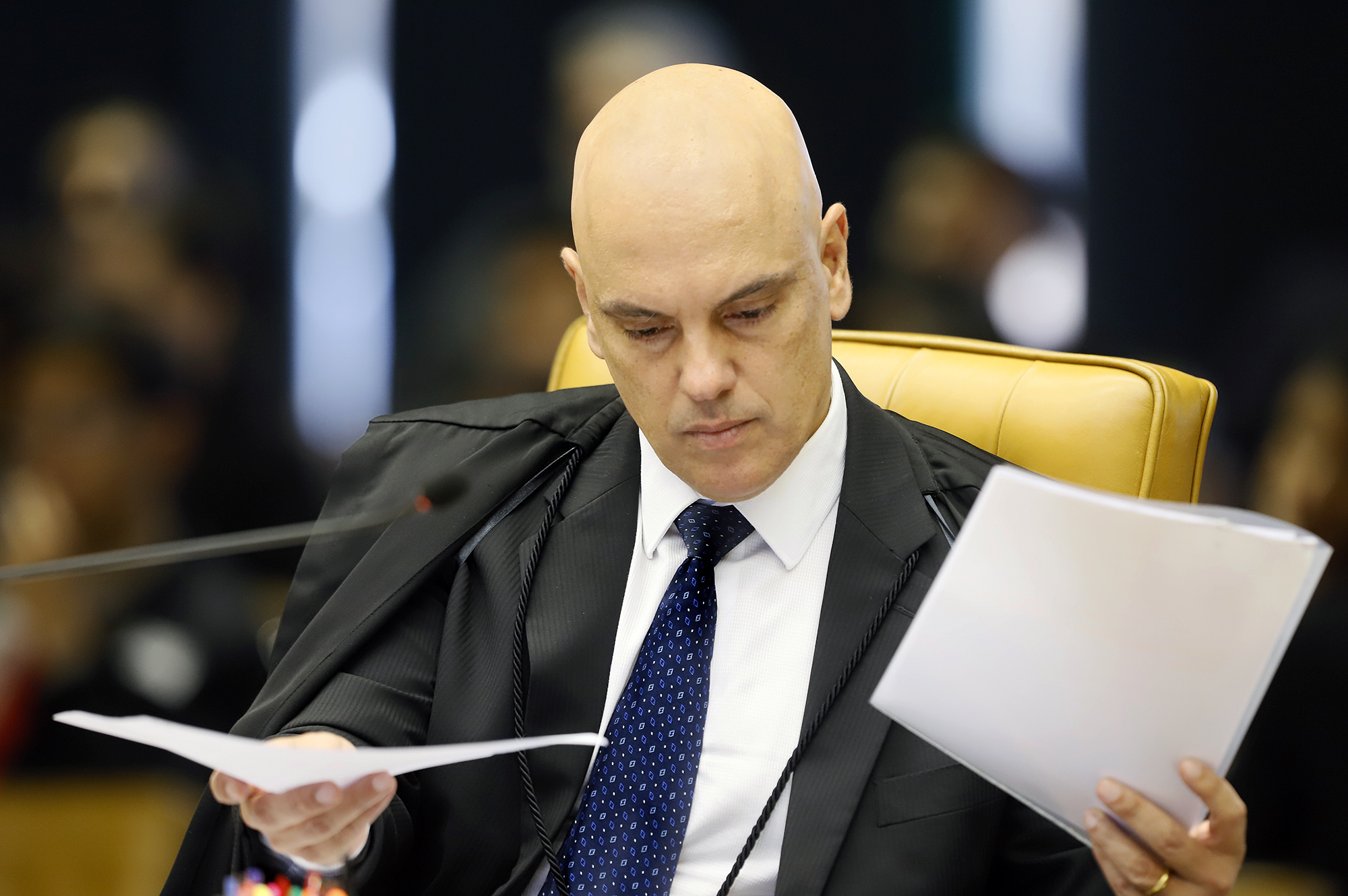 IMAGEM: Moraes pede que redes sociais guardem postagens de deputados bolsonaristas