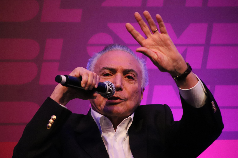 IMAGEM: Temer e Sarney desistem de live organizada por grupo contra Bolsonaro