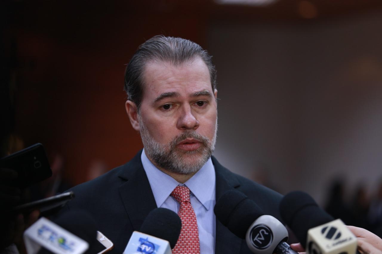 IMAGEM: Toffoli deixa discussão sobre Coaf e Receita para fim da sessão do STF