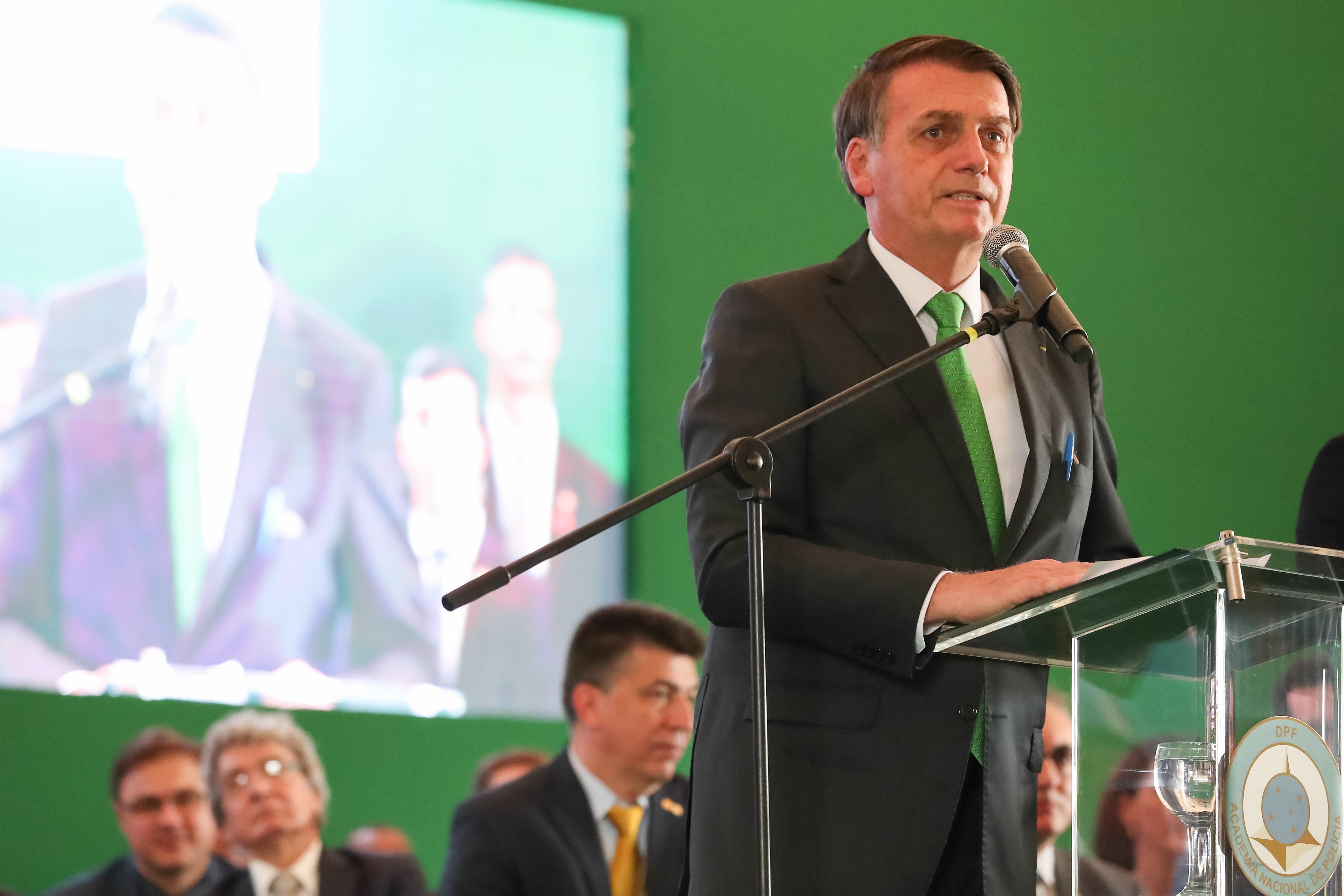 """IMAGEM: Bolsonaro: Mercosul não pode """"perder tempo"""" com """"retrocessos ideológicos"""""""