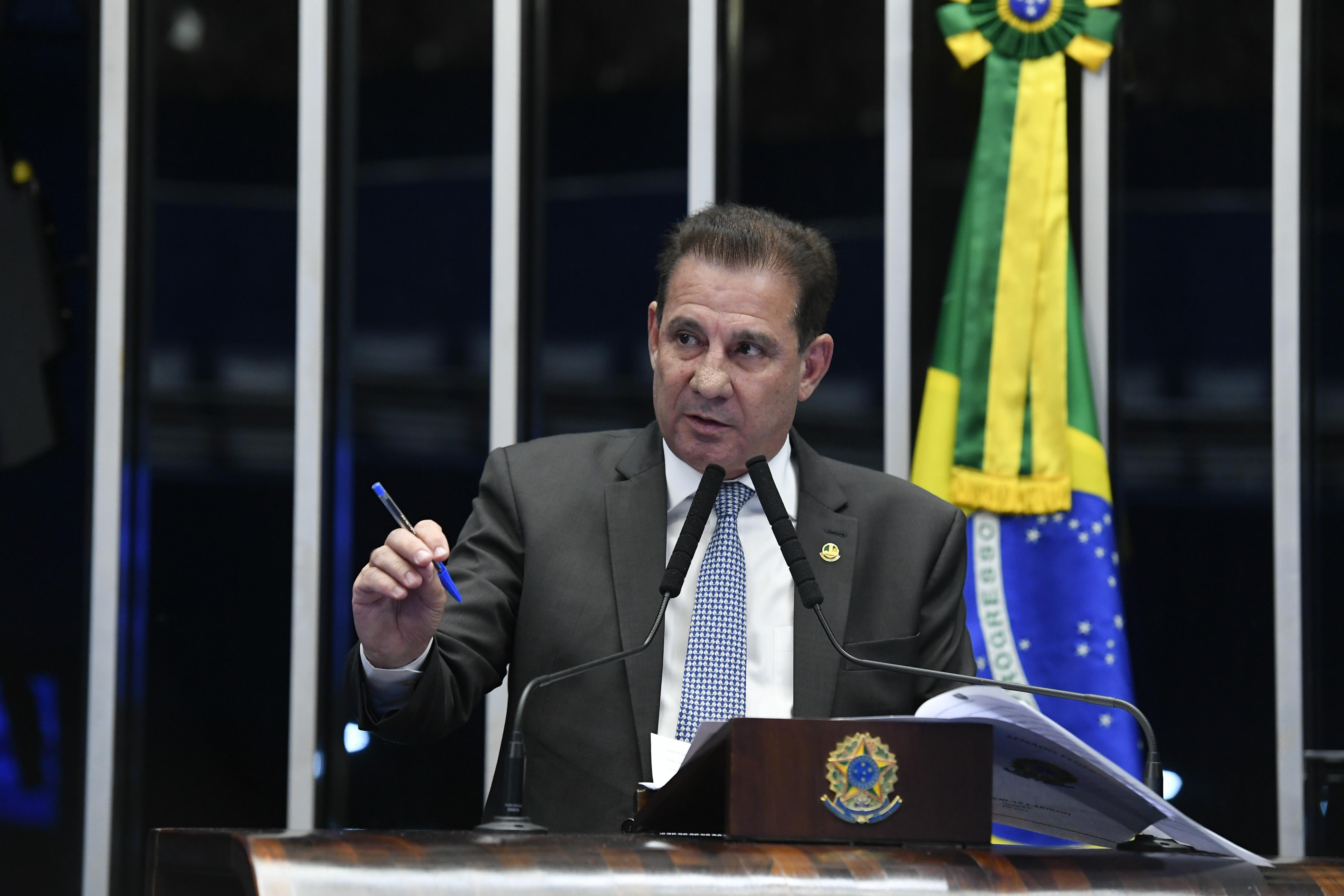 IMAGEM: Agência Senado noticia Vanderlan no 2º turno em Goiânia