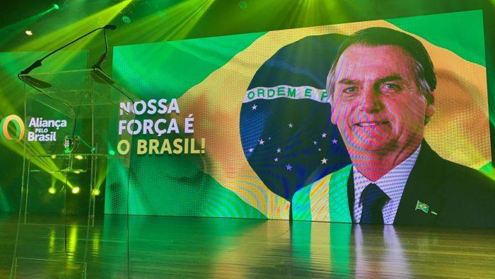 IMAGEM: Partido de Bolsonaro suspende coleta de assinaturas nas ruas