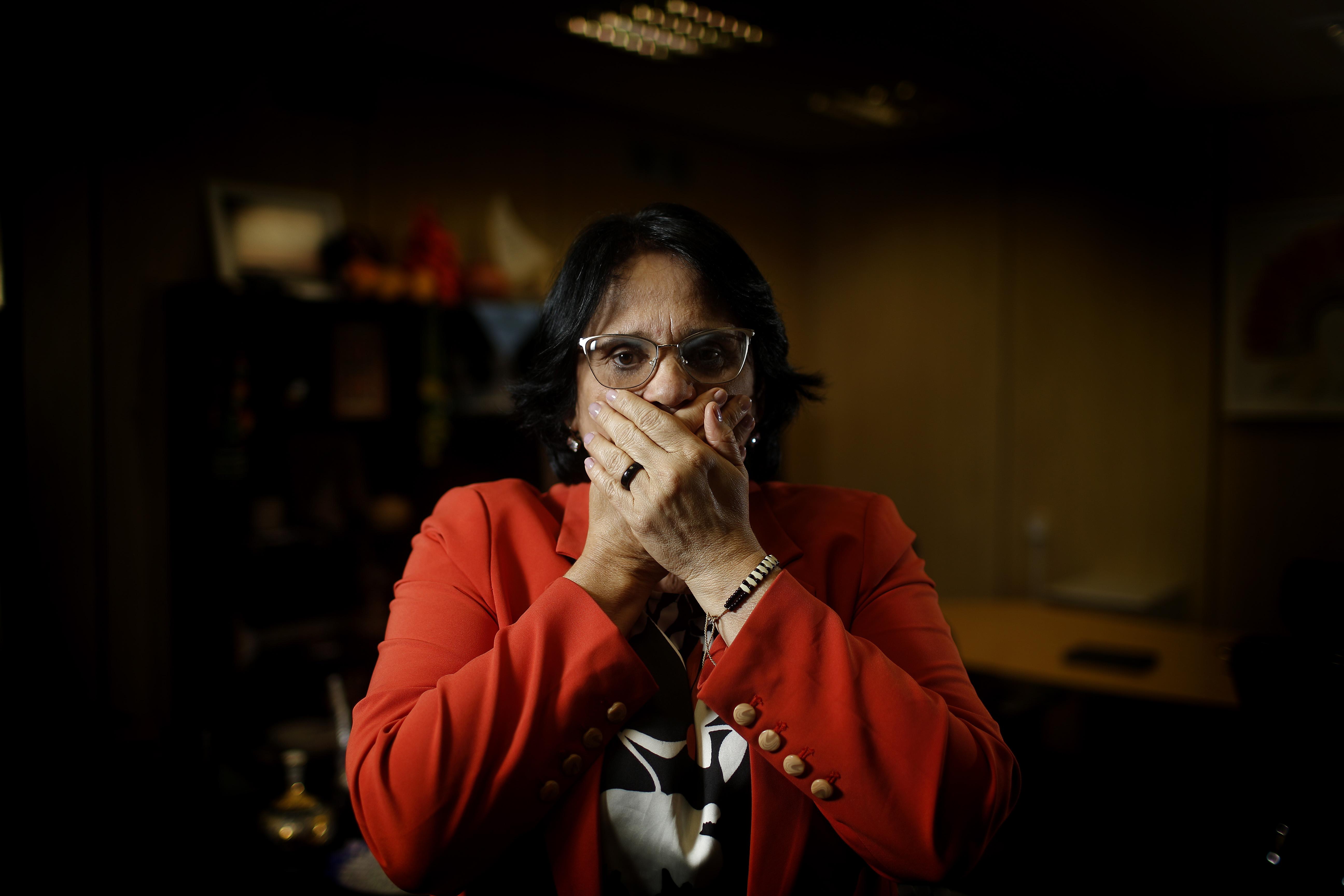 IMAGEM: Damares chama pergunta sobre ação no Jacarezinho de 'palhaçada'