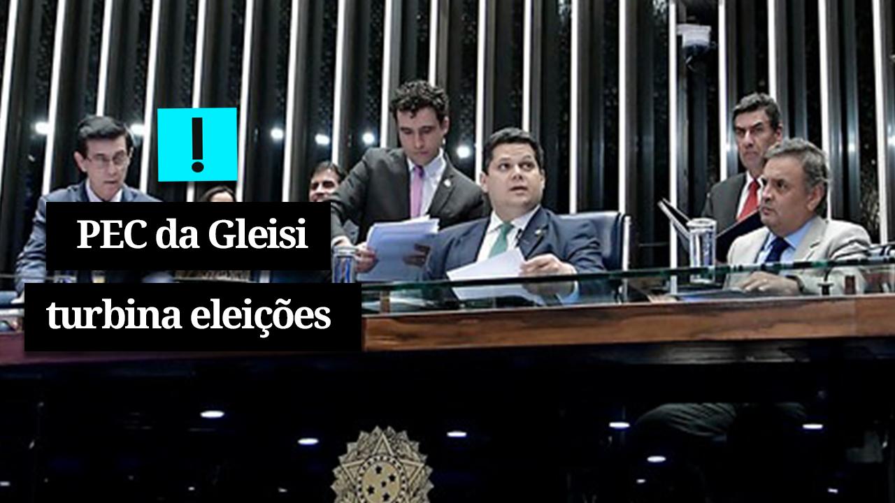 IMAGEM: Vídeo: PEC da Gleisi turbina eleições 2020