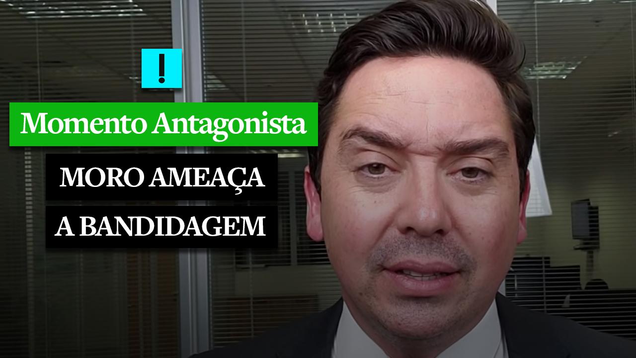 IMAGEM: MOMENTO ANTAGONISTA: MORO 'AMEAÇA'