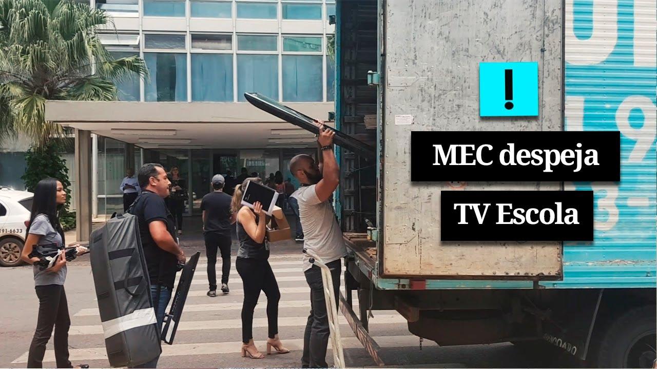 IMAGEM: Vídeo: MEC despeja TV Escola