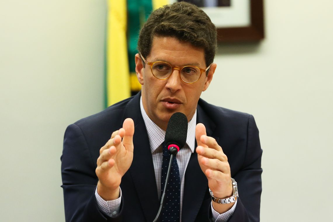 IMAGEM: Órgão do MPF pede que Ricardo Salles seja investigado por improbidade e crime de responsabilidade