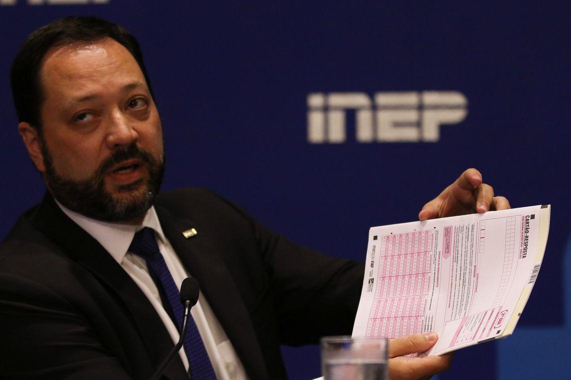 IMAGEM: Presidente do Inep é diagnosticado com Covid-19