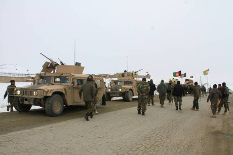 IMAGEM: EUA iniciam retirada de tropas do Afeganistão
