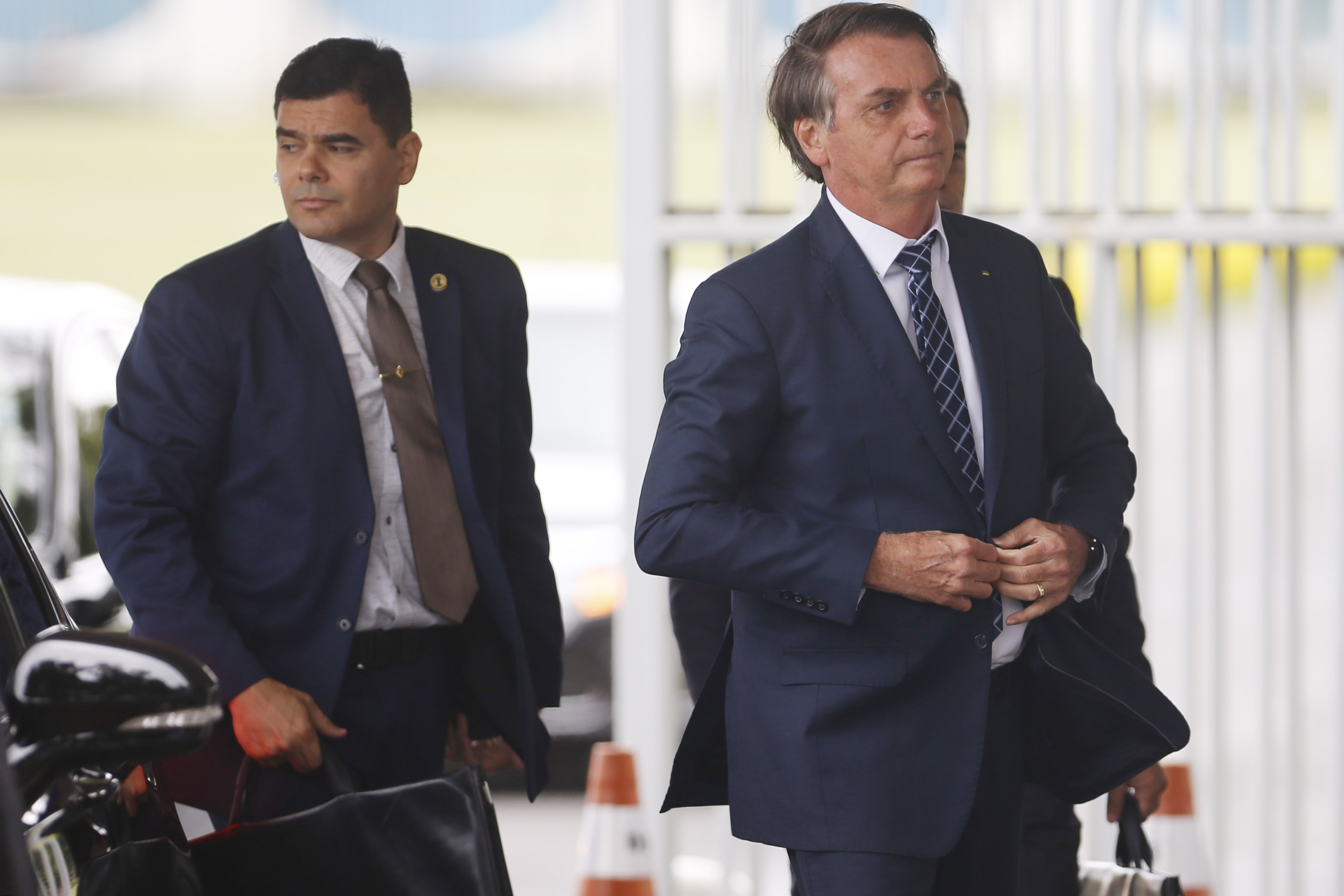 IMAGEM: Bolsonaro repete 'banana'