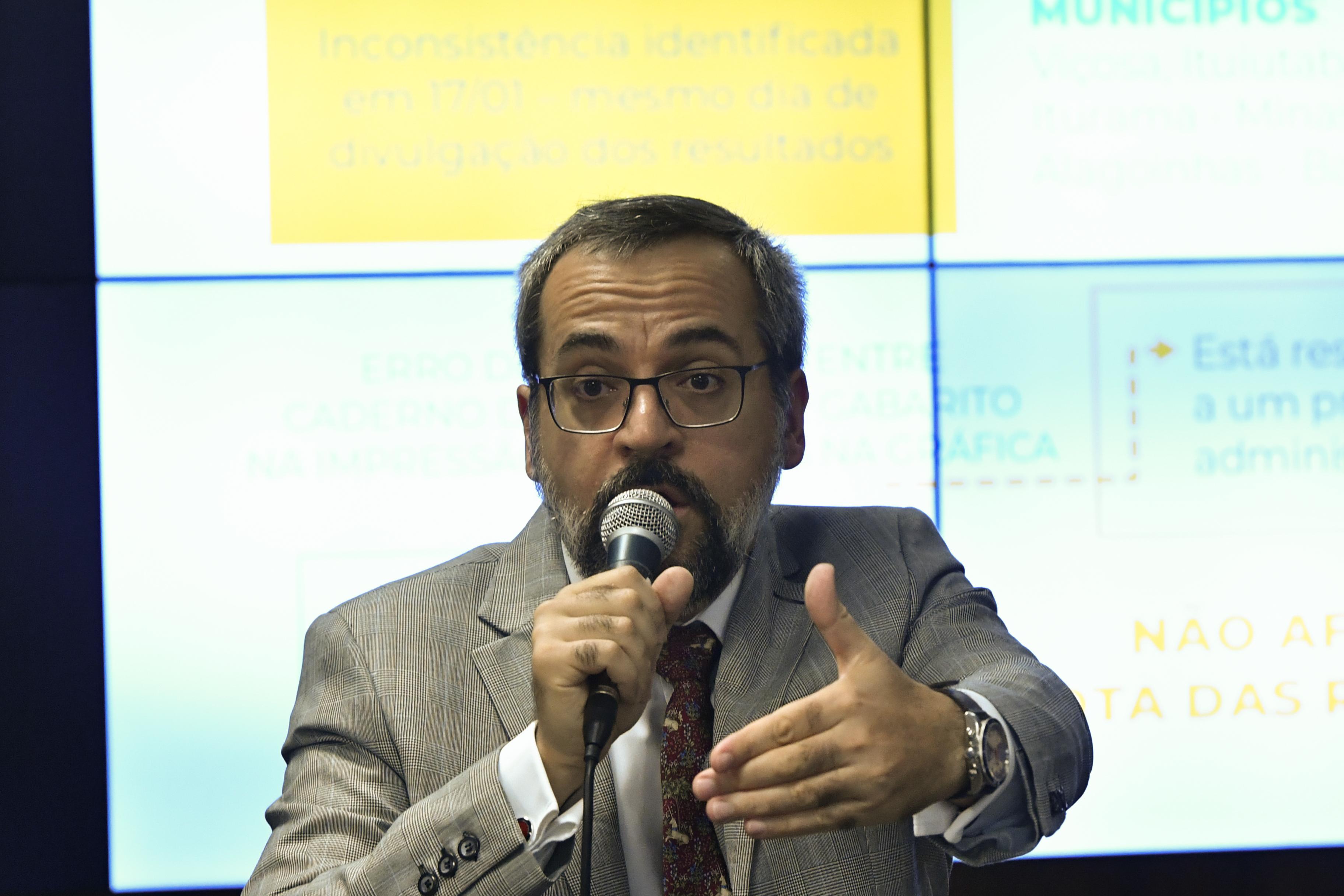 IMAGEM: Weintraub é condenado por dizer que universidades 'cultivam maconha'
