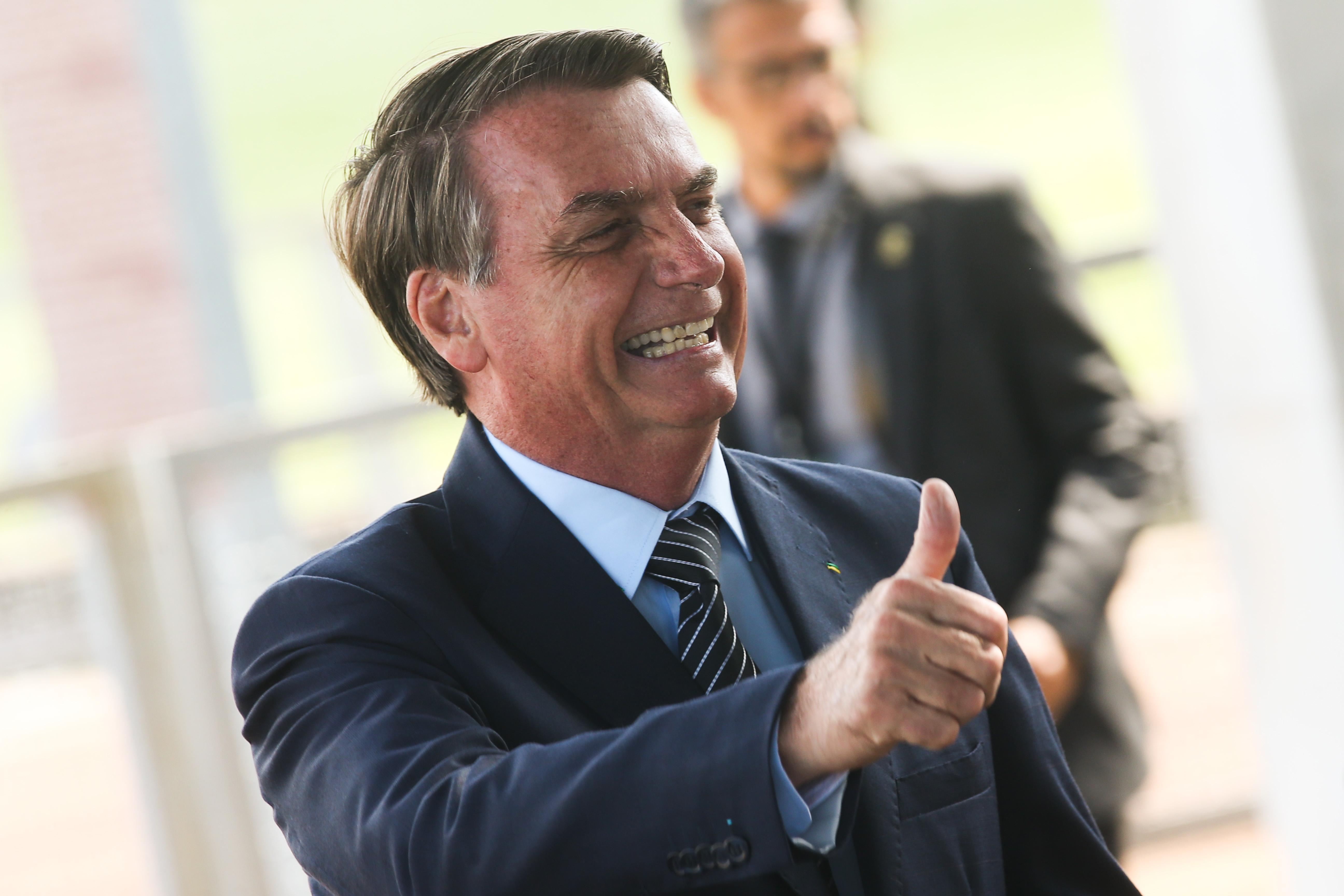IMAGEM: A homenagem do BloCu a Bolsonaro