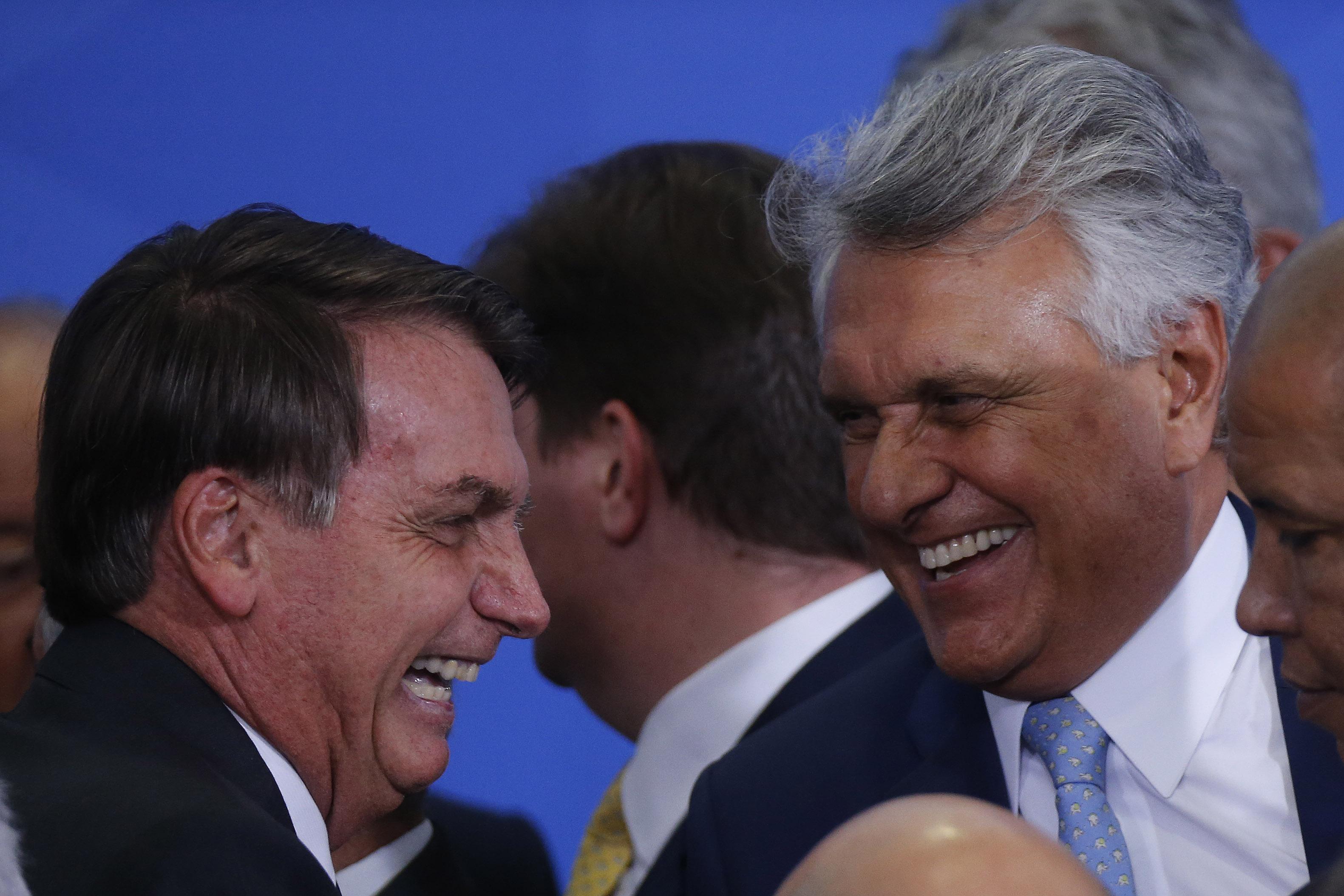 IMAGEM: Caiado ataca Doria e diz que paulistas não podem ser vacinados antes dos outros