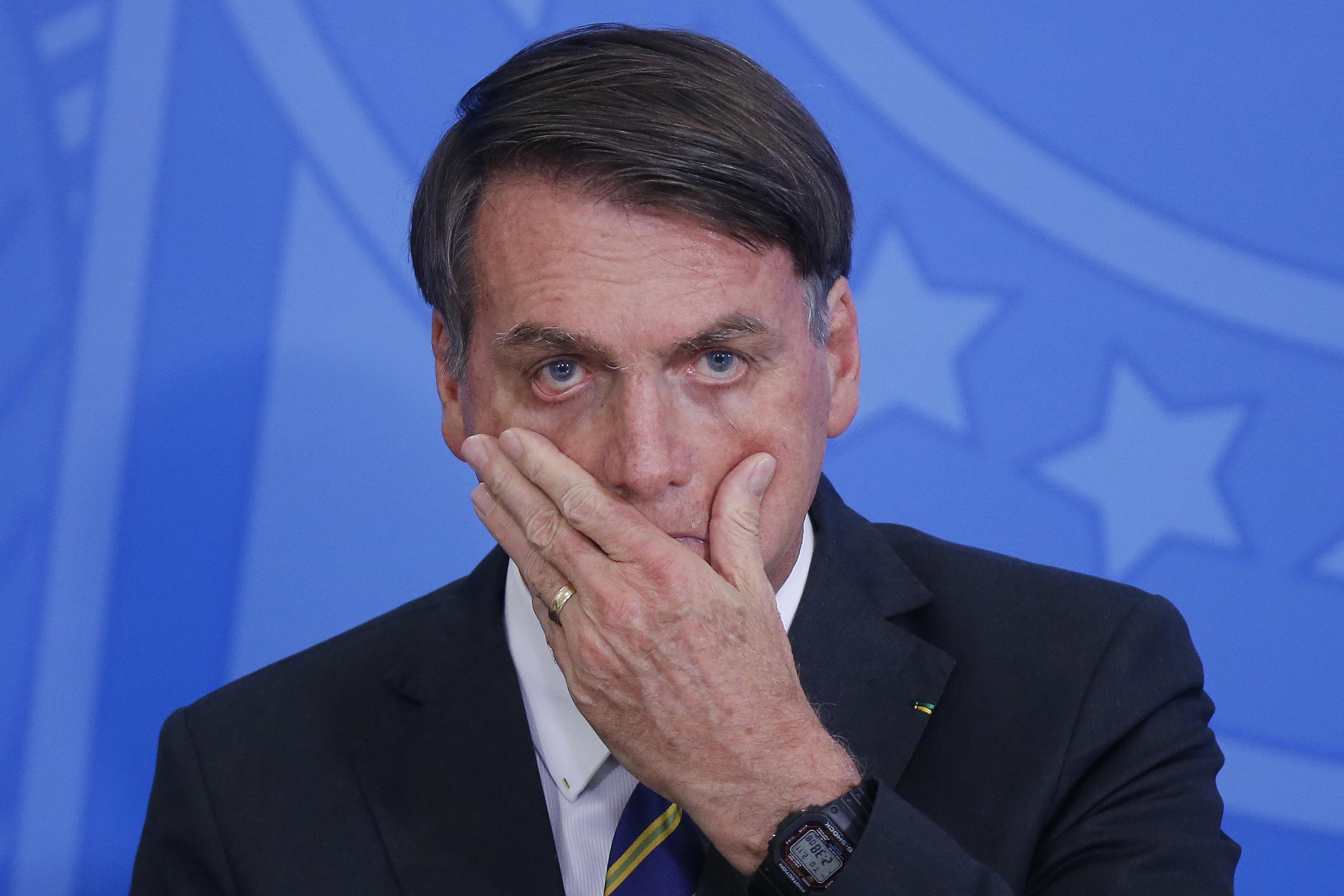 IMAGEM: Greenpeace rebate Bolsonaro, que chamou ONG de 'lixo'