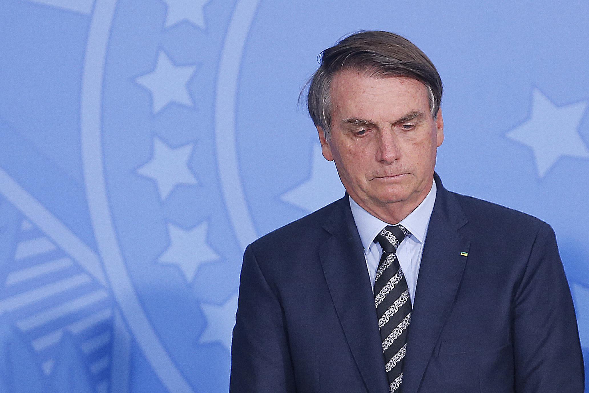 IMAGEM: Bolsonaro vai a Montevidéu
