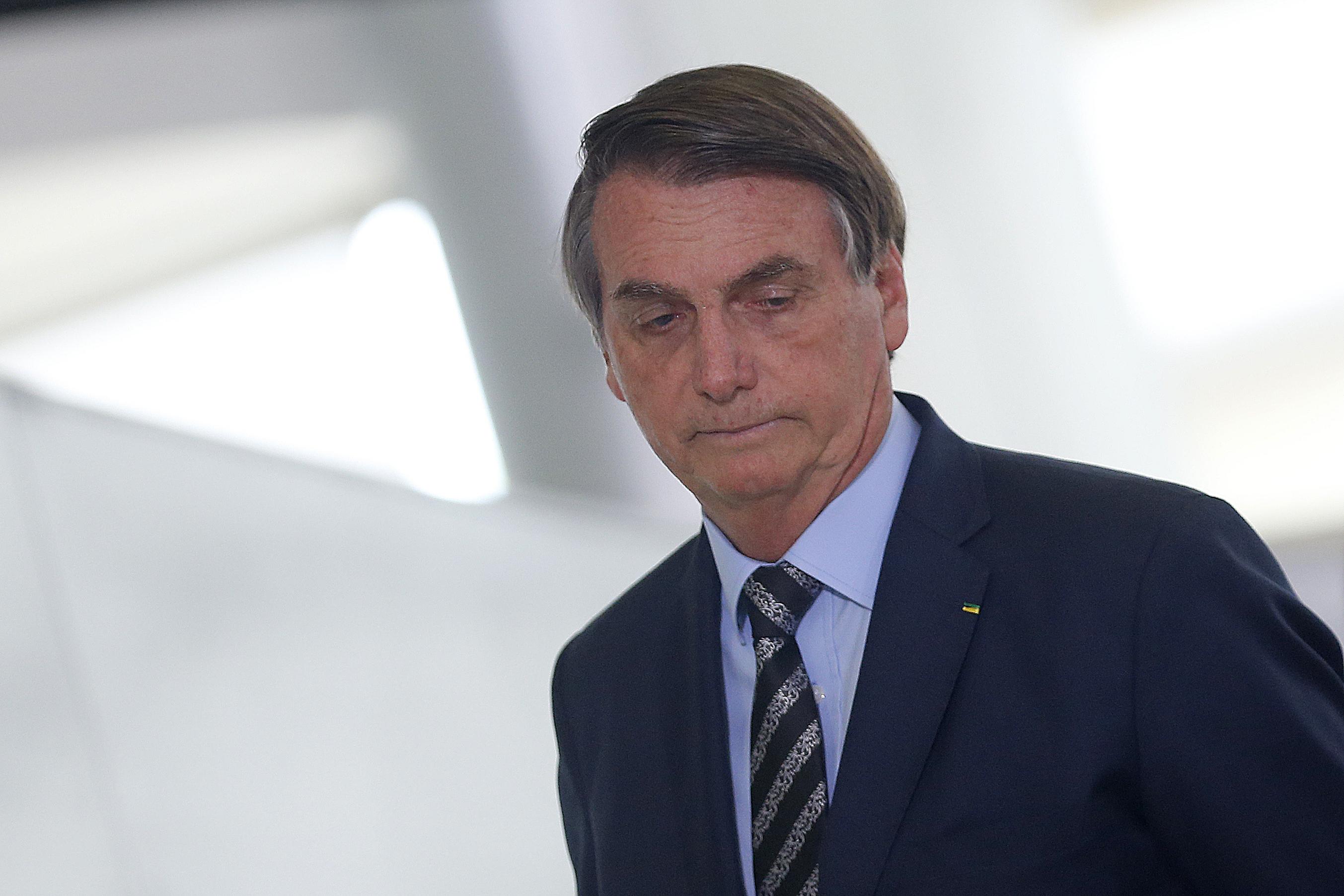 IMAGEM: Bolsonaro diz que estuda criação do Ministério da Amazônia