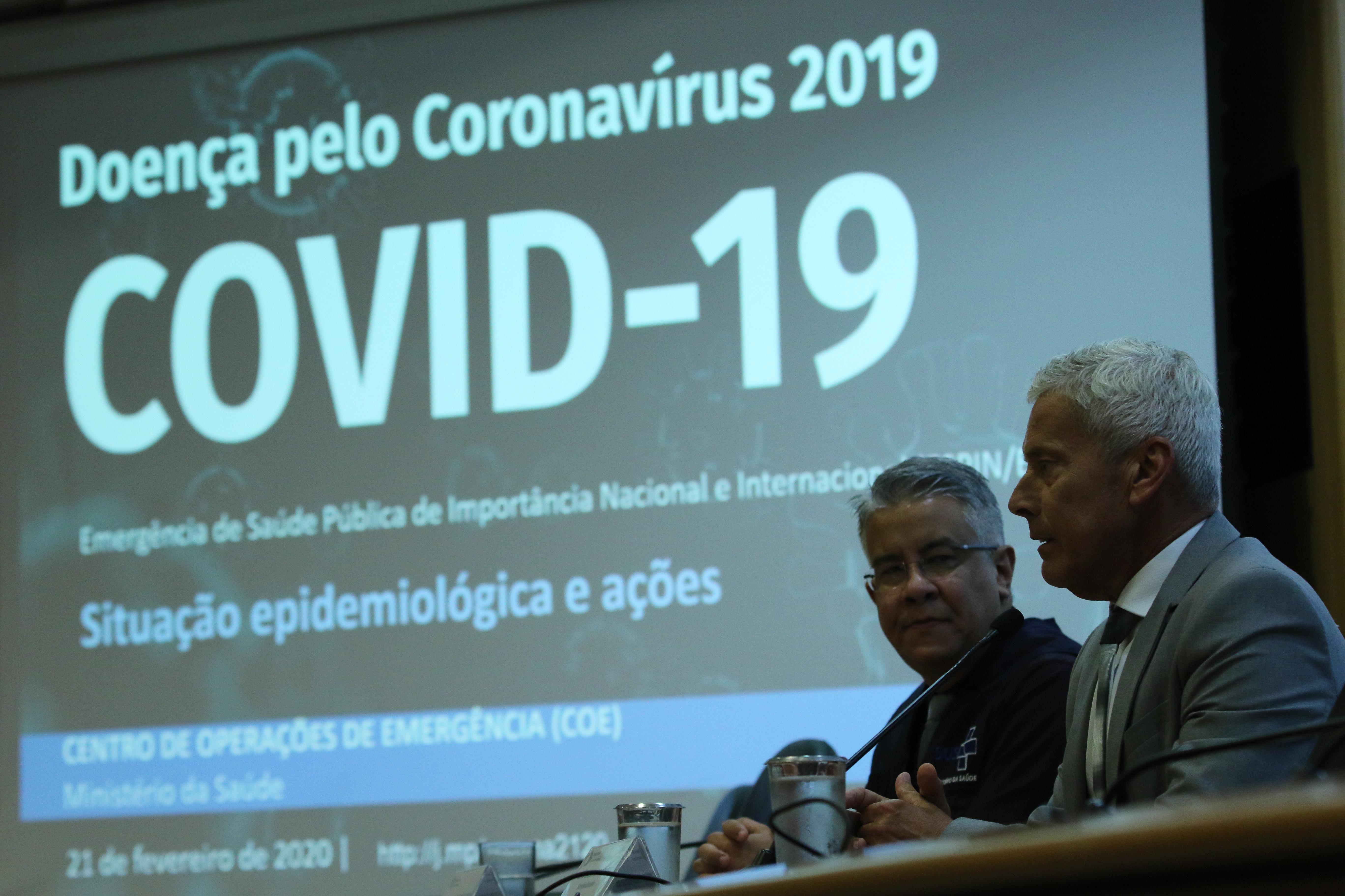 IMAGEM: Coronavírus: brasileiro infectado chegou em voo proveniente da França