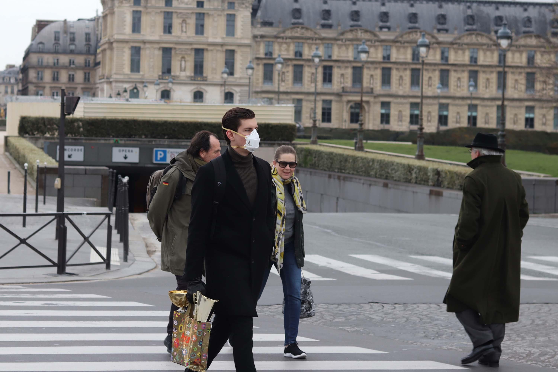 IMAGEM: Covid-19: França bate recorde diário de casos