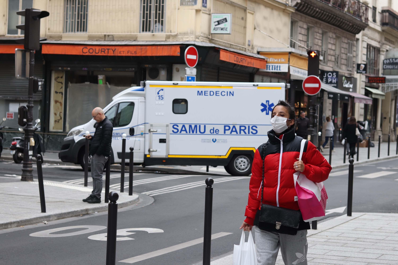 IMAGEM: Economia da França deve sofrer tombo de 11%, diz ministro