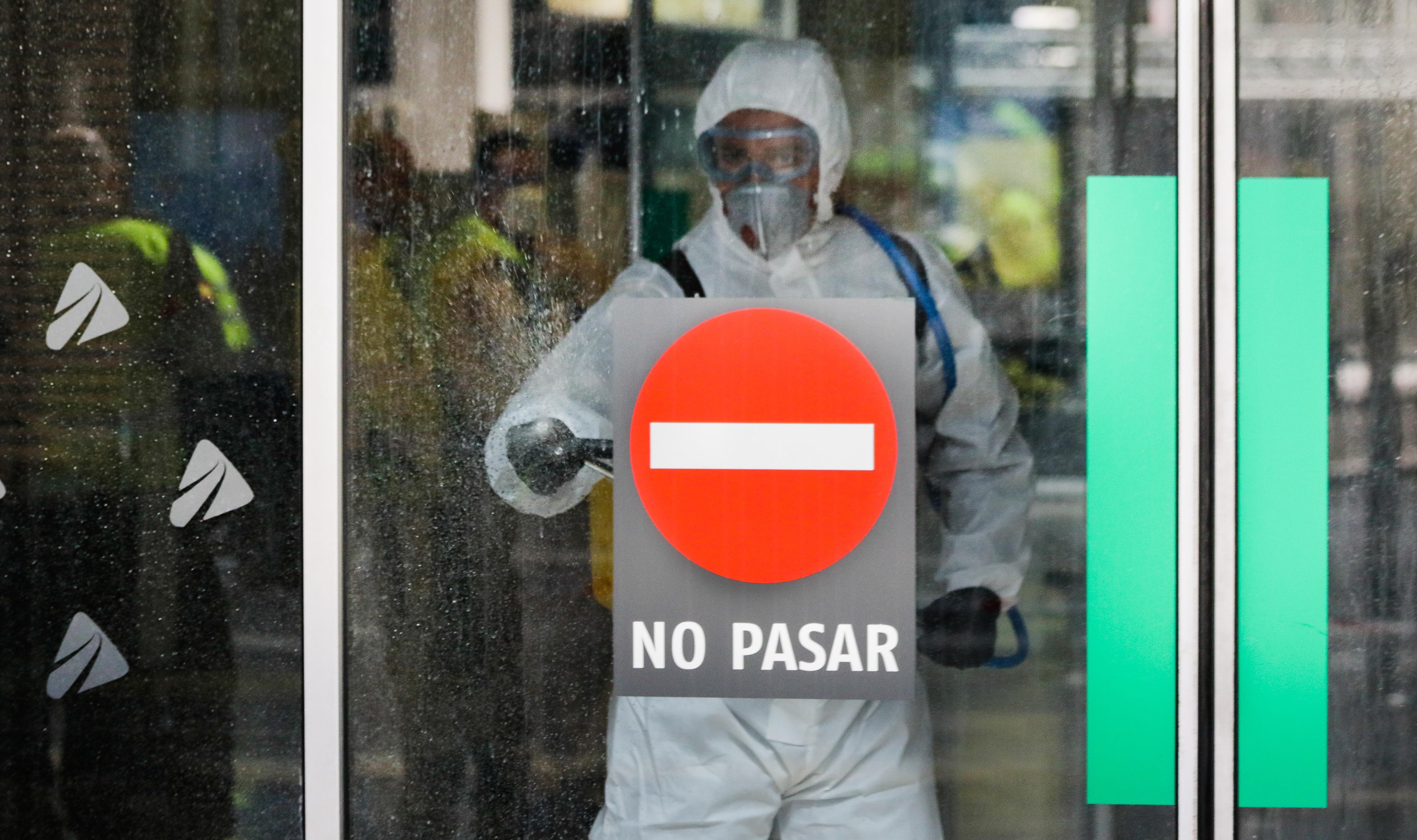 IMAGEM: Menos mortos na Espanha