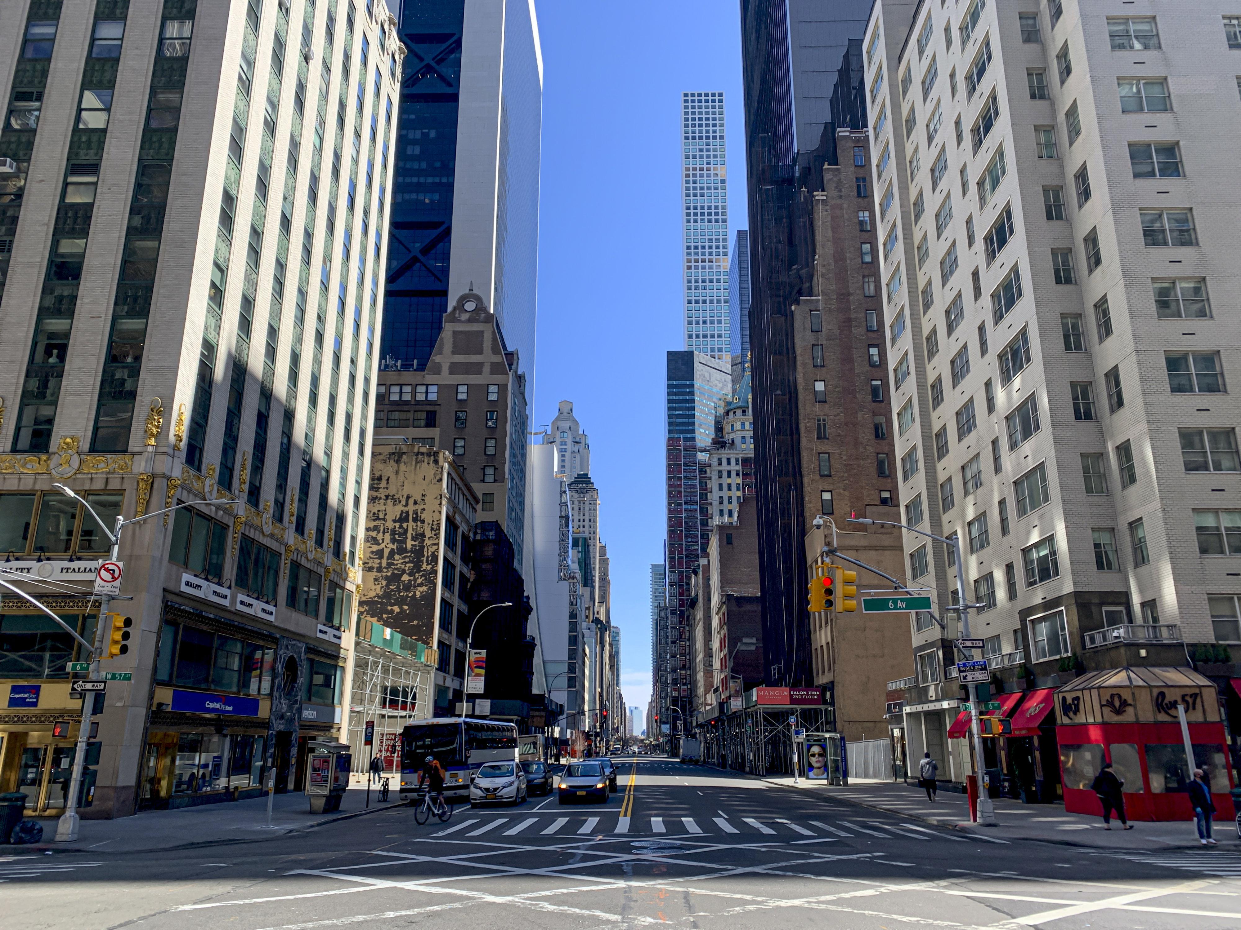 """IMAGEM: """"Não há motivo para fazer negócios em Nova York"""""""