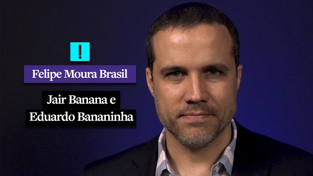 IMAGEM: Vídeo: Jair Banana e Eduardo Bananinha