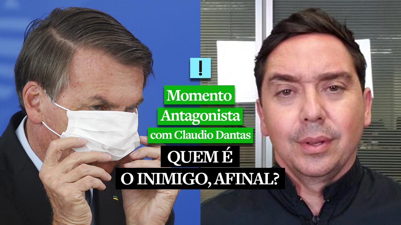 IMAGEM: Momento Antagonista: QUEM É O INIMIGO, AFINAL?