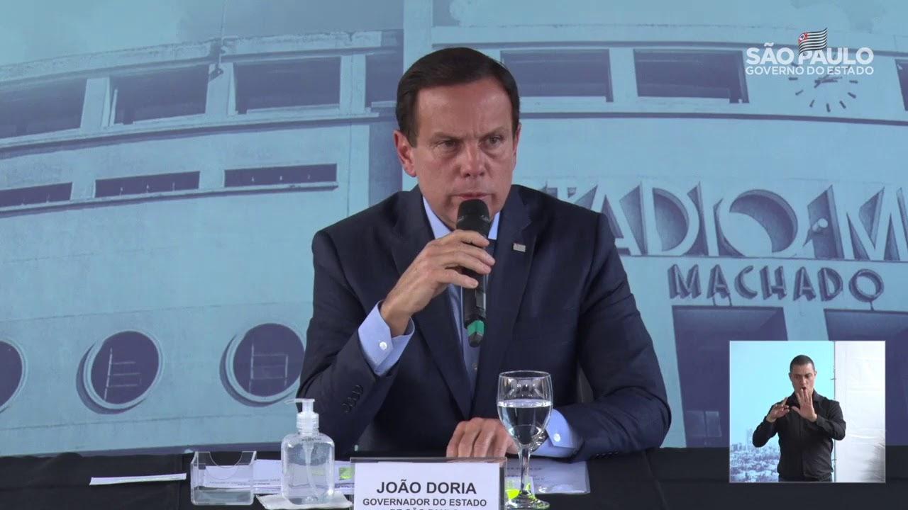 IMAGEM: MP-SP investiga compra de equipamentos hospitalares por Doria