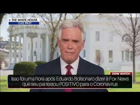 IMAGEM: Correspondente da Fox News comenta as 'duas versões' de Eduardo Bolsonaro
