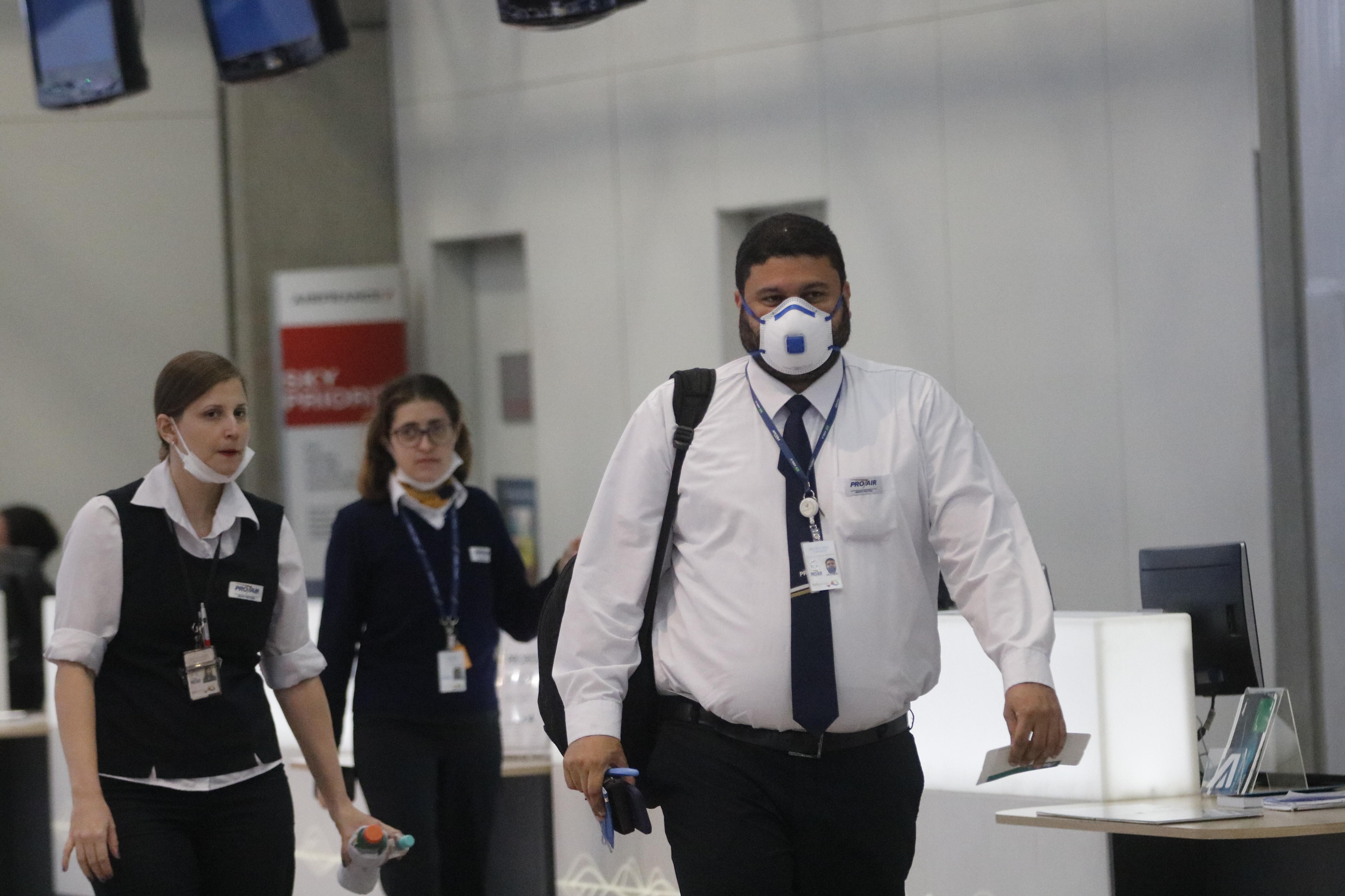 IMAGEM: MPF quer exigência de teste de Covid-19 em voos nacionais
