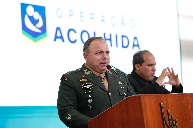 IMAGEM: Visões diferentes sobre Pazuello: 'resolvedor de problemas' e 'ministro interino fragilizado'