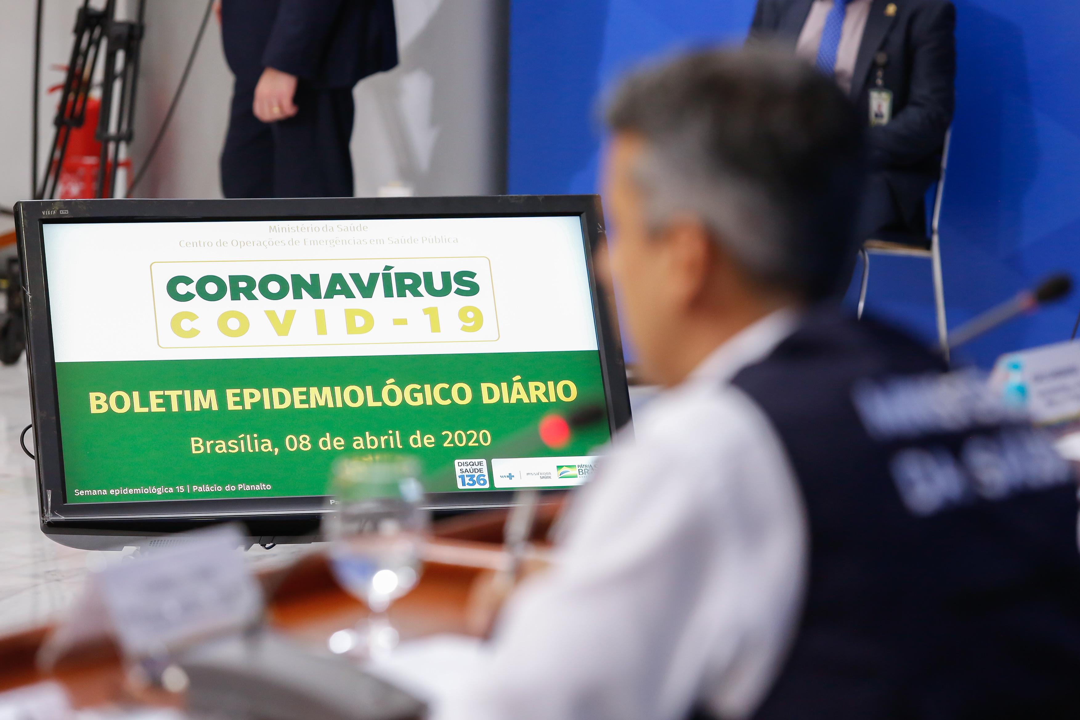 IMAGEM: Covid-19: Saúde divulga pela 1ª vez coeficiente de mortalidade