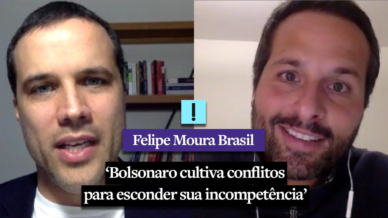 """IMAGEM: Vídeo: """"Bolsonaro cultiva conflitos para esconder sua incompetência"""", diz Marcelo Calero"""