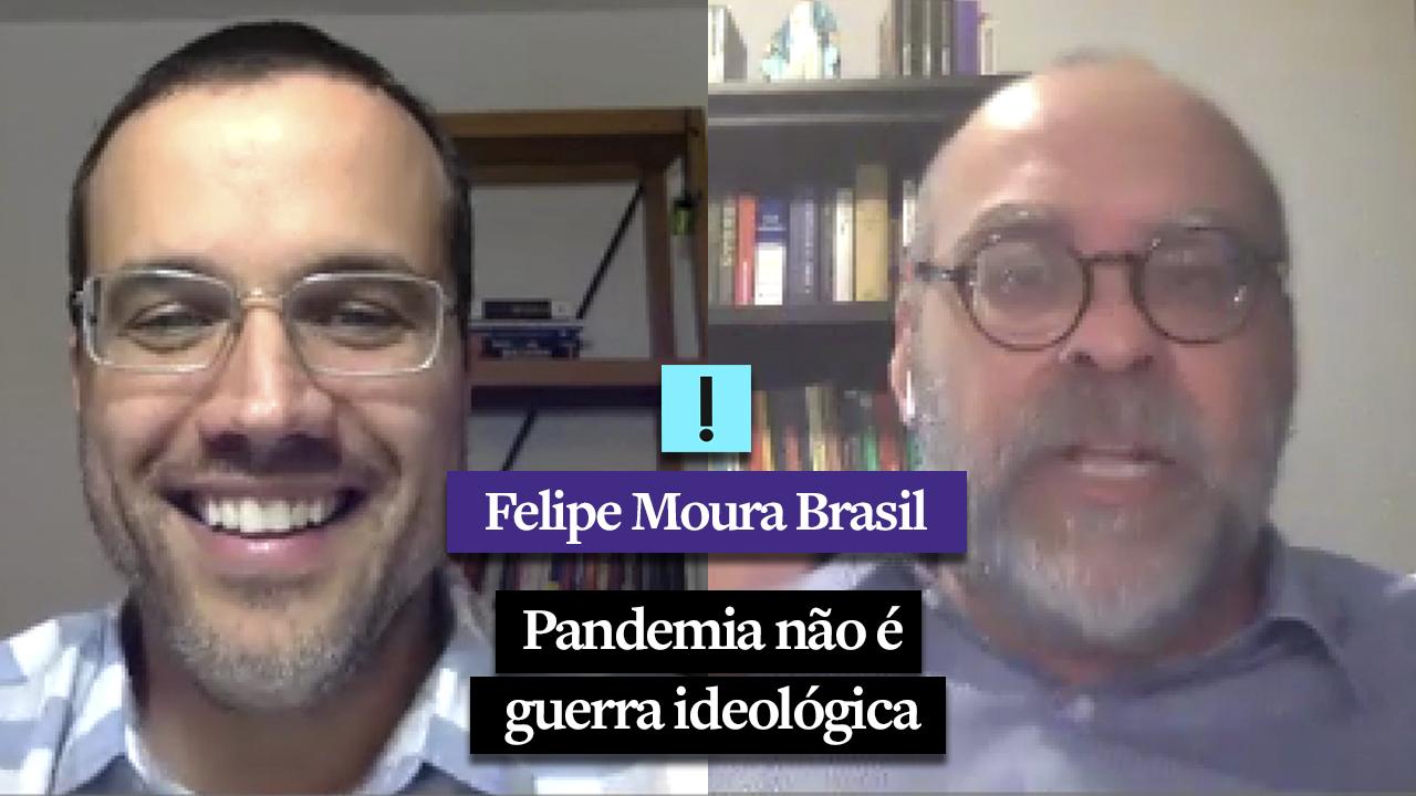"""IMAGEM: """"Pandemia não é guerra ideológica"""", diz Alexandre Borges"""