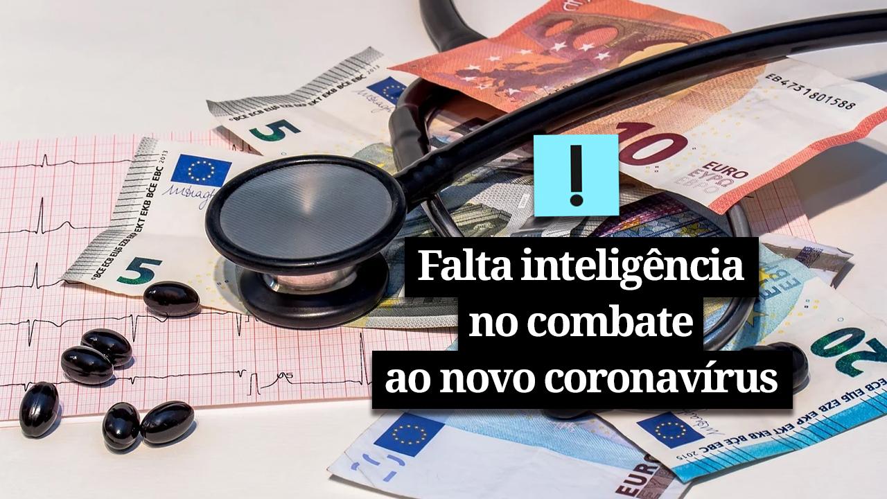 IMAGEM: Vídeo: falta inteligência no combate ao novo coronavírus